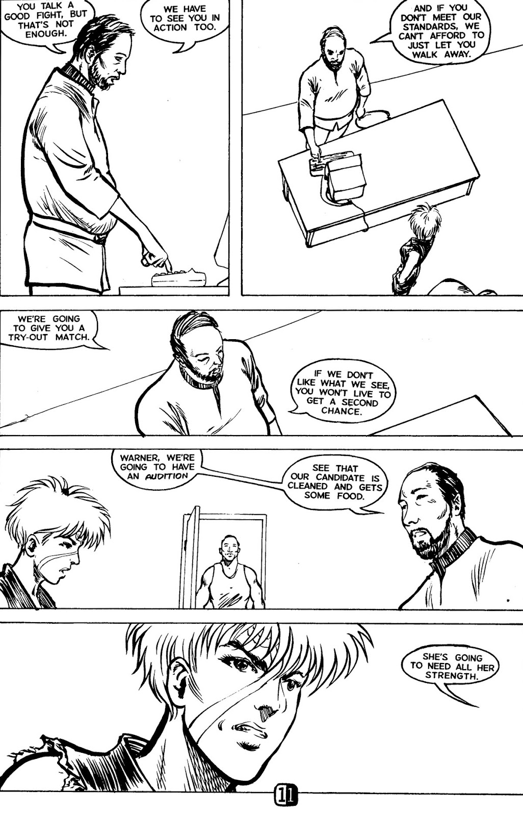 Robotech MechAngel issue 1 - Page 15