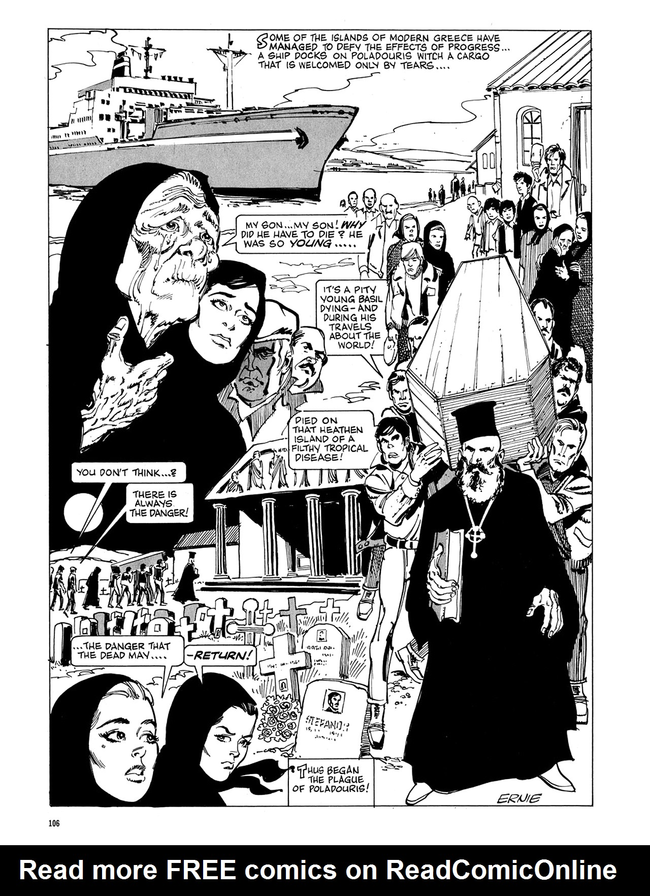 Read online Eerie Archives comic -  Issue # TPB 5 - 107