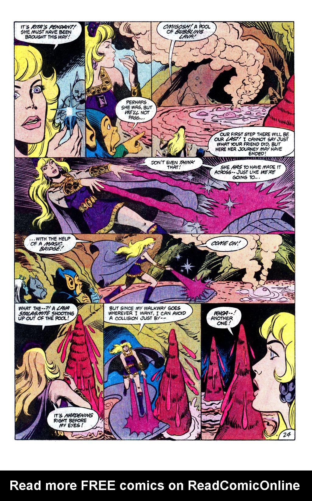 Read online Amethyst, Princess of Gemworld comic -  Issue # _Annual 1 - 25