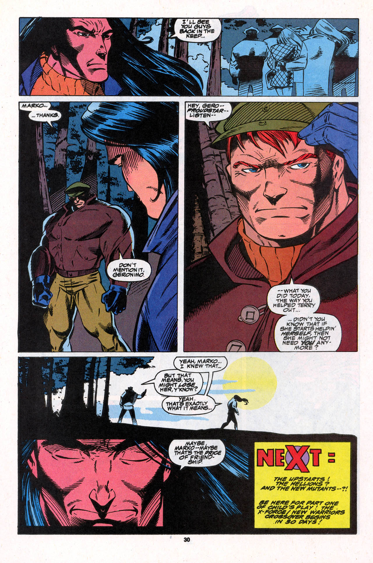 Read online X-Force (1991) comic -  Issue #31 - 31