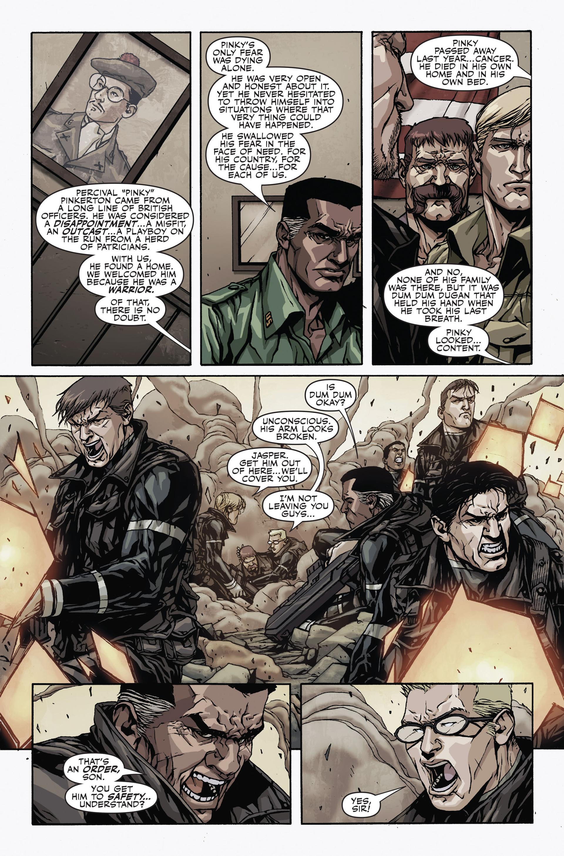 Read online Secret Warriors comic -  Issue #19 - 11
