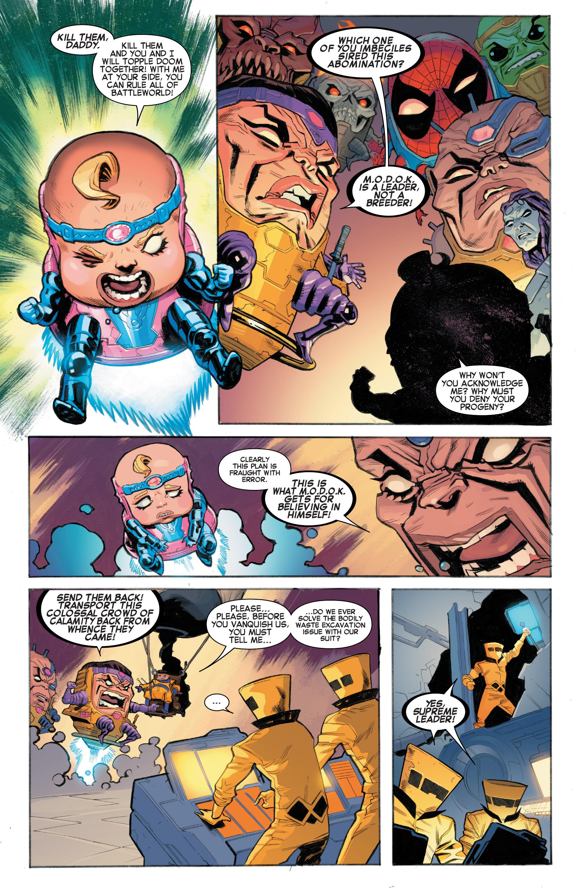 Read online Secret Wars Journal/Battleworld comic -  Issue # TPB - 135