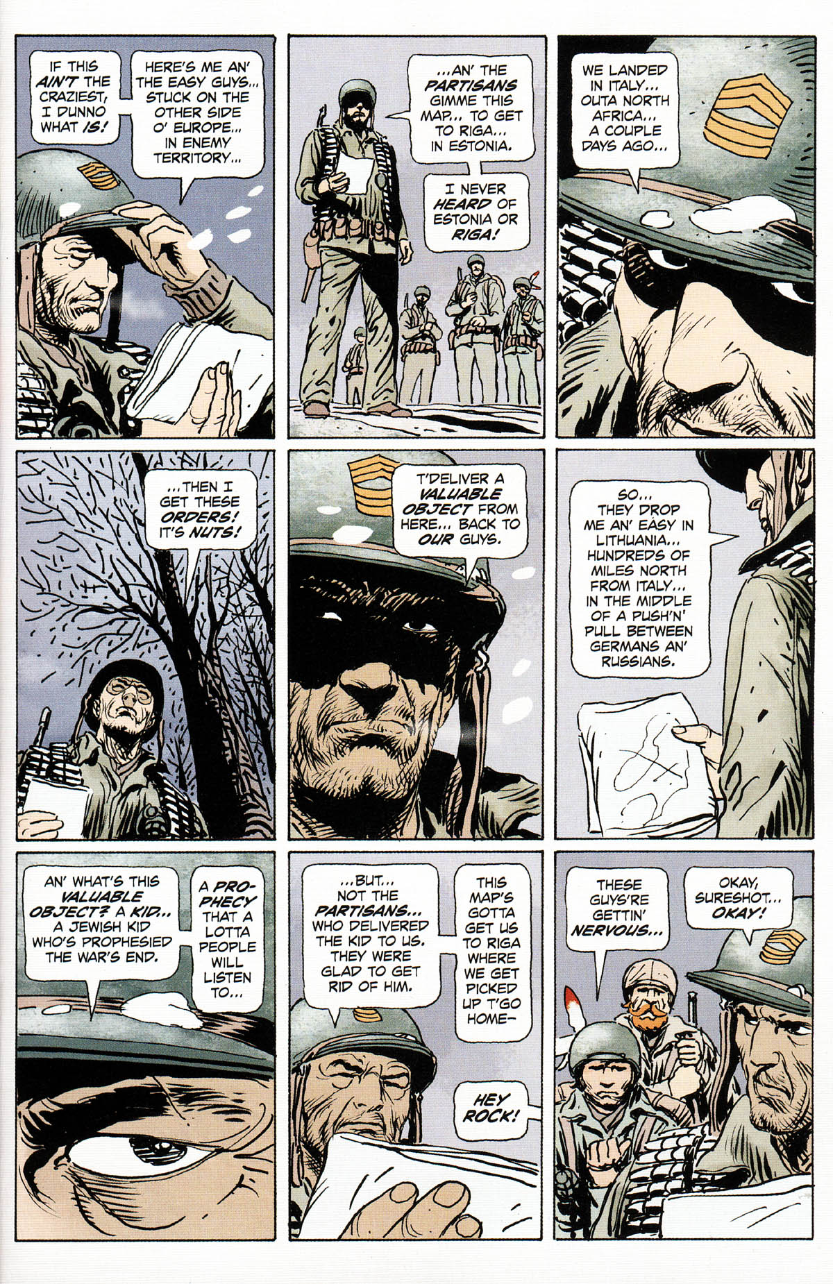 Read online Sgt. Rock: The Prophecy comic -  Issue #3 - 3