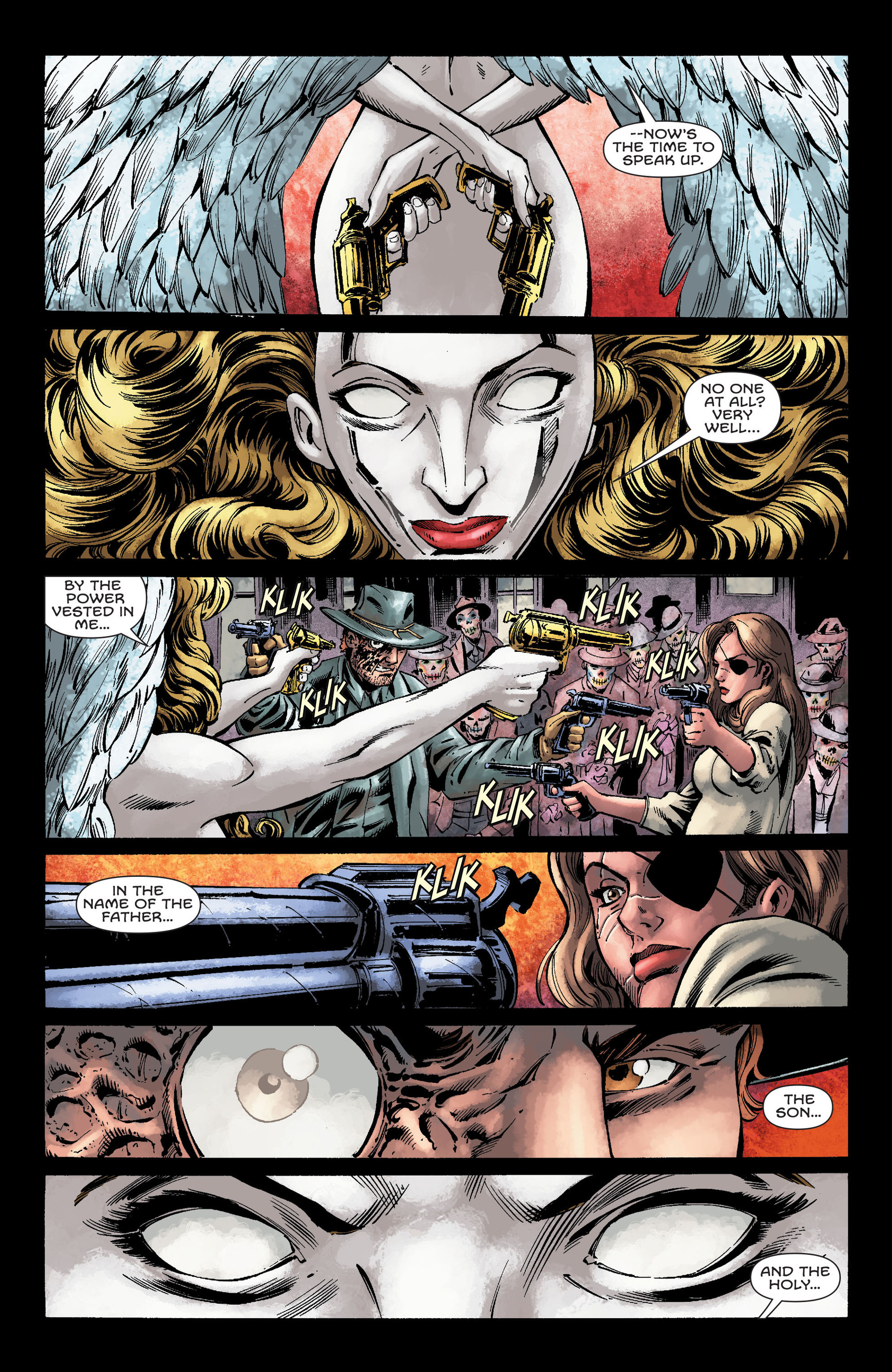 Read online All-Star Western (2011) comic -  Issue #26 - 11