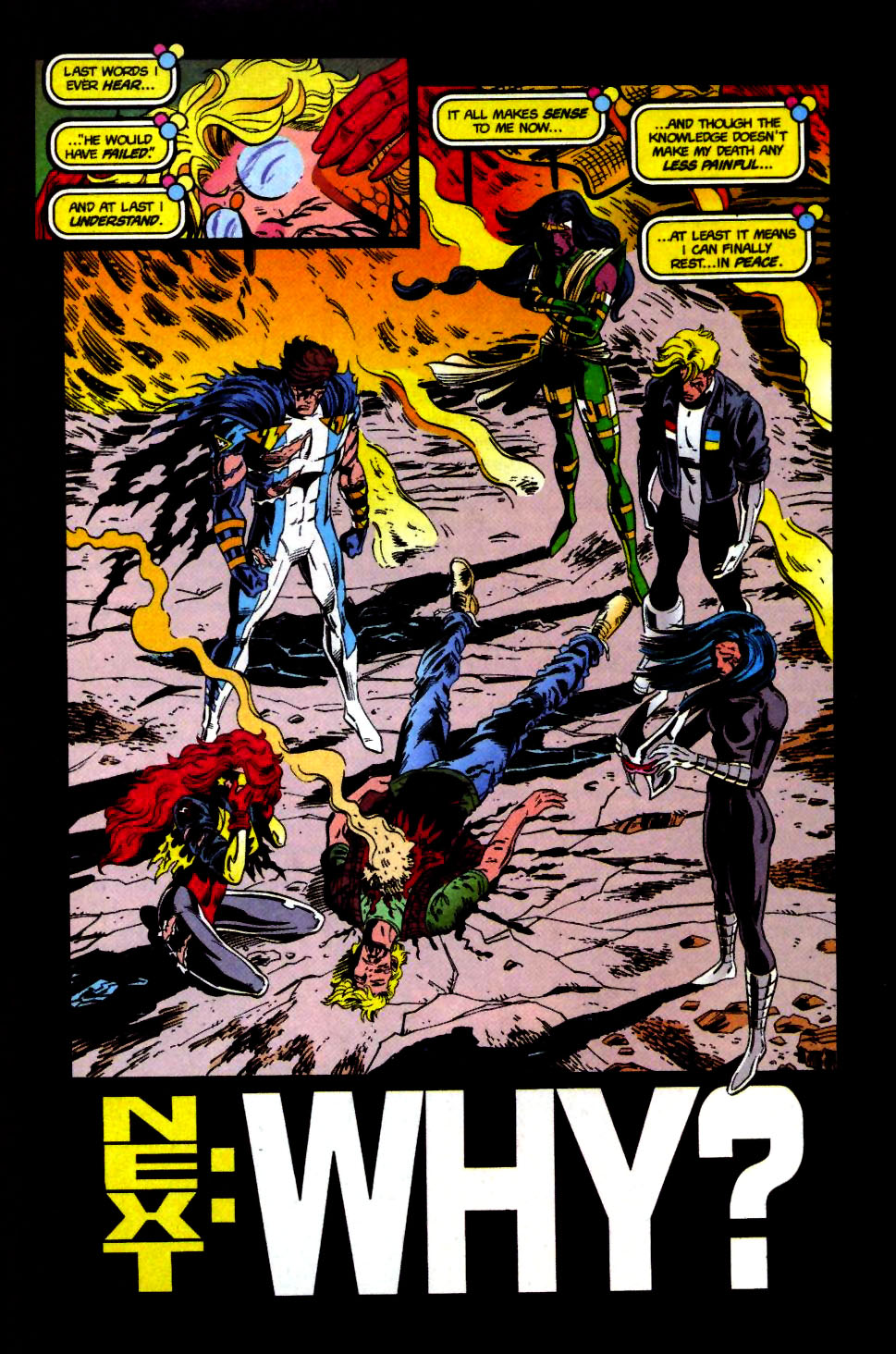 The New Warriors Issue #69 #73 - English 23