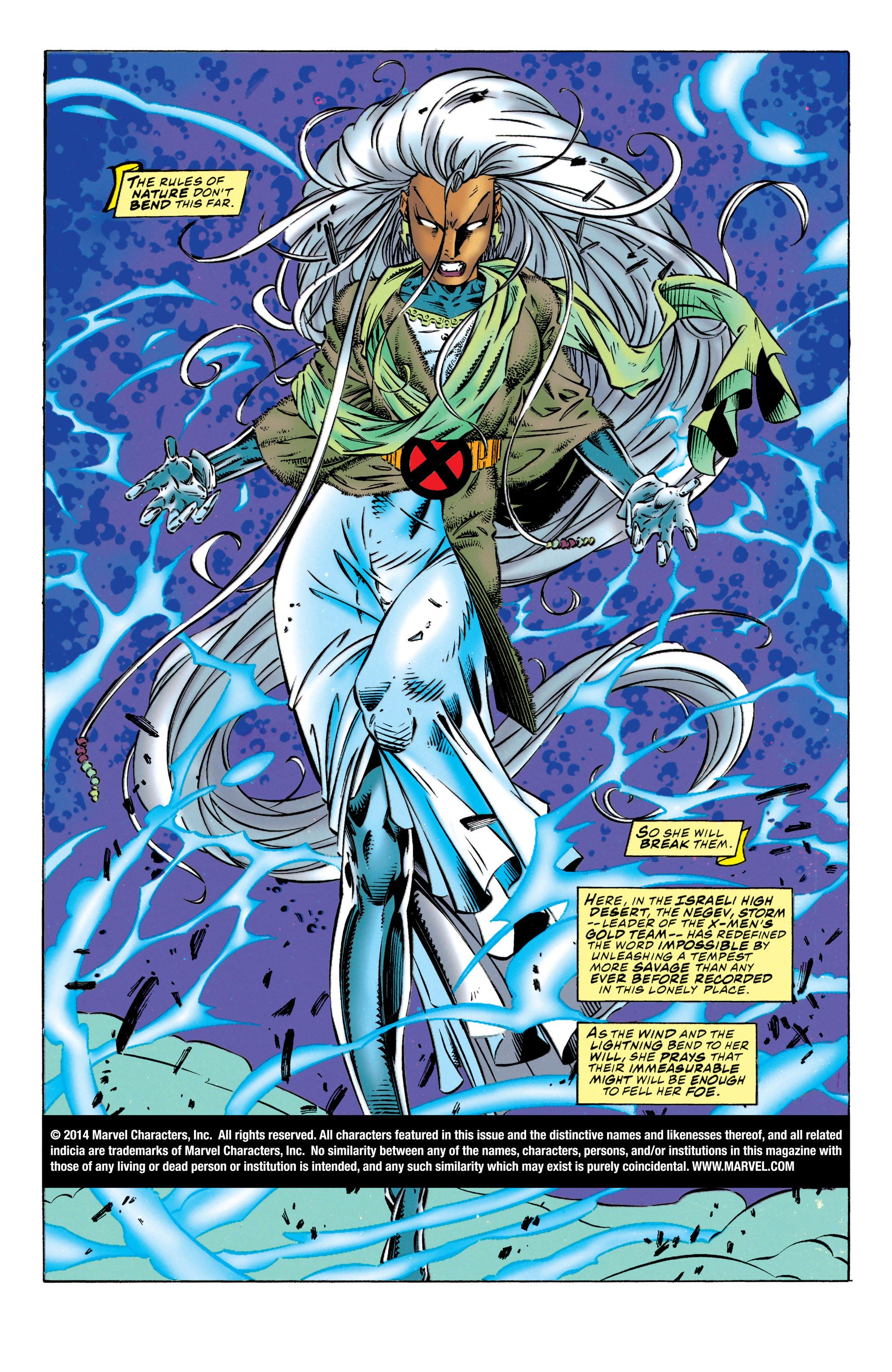 Read online Uncanny X-Men (1963) comic -  Issue #320 - 2