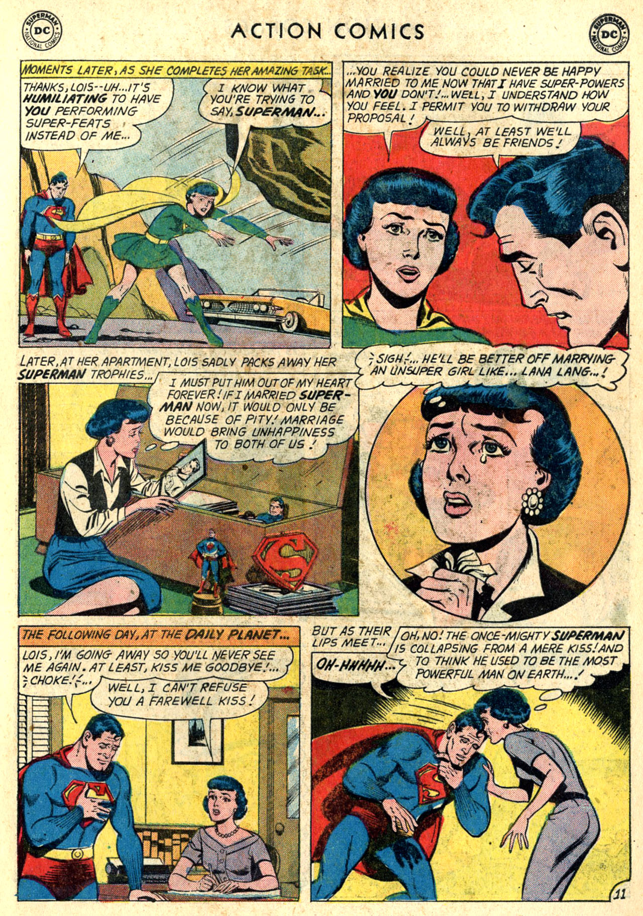 Read online Action Comics (1938) comic -  Issue #274 - 13
