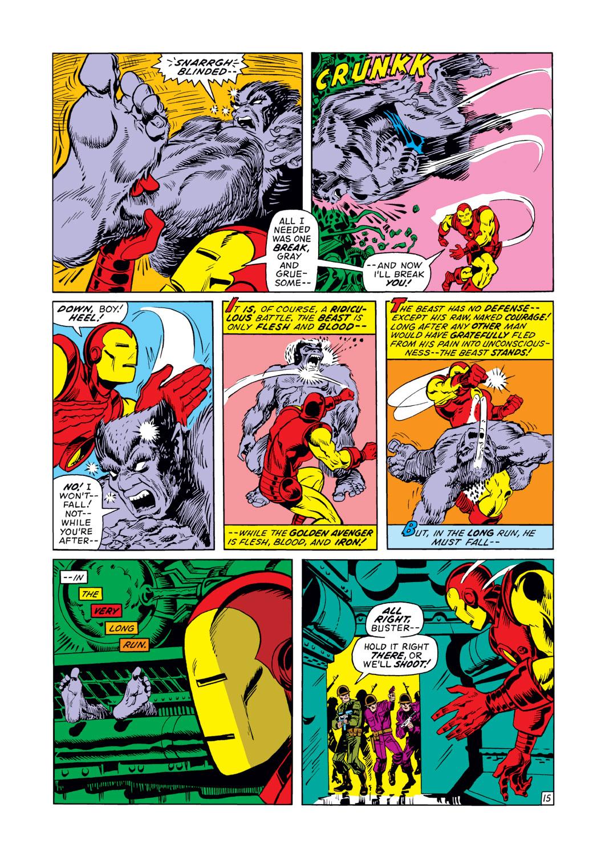 Read online Amazing Adventures (1970) comic -  Issue #12 - 16