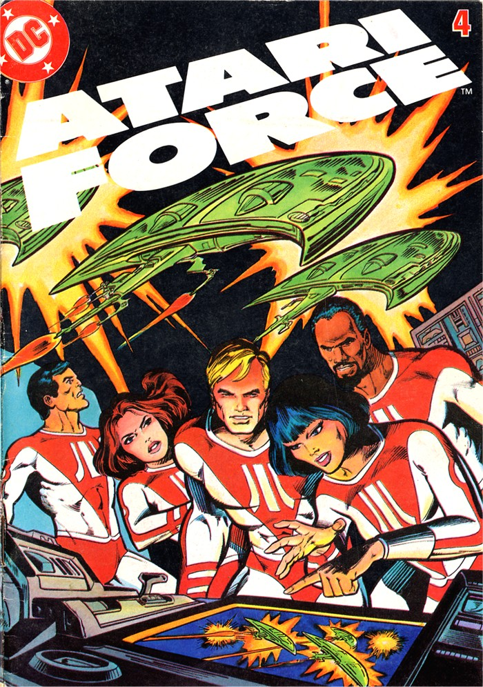 Read online Atari Force (1982) comic -  Issue #4 - 1