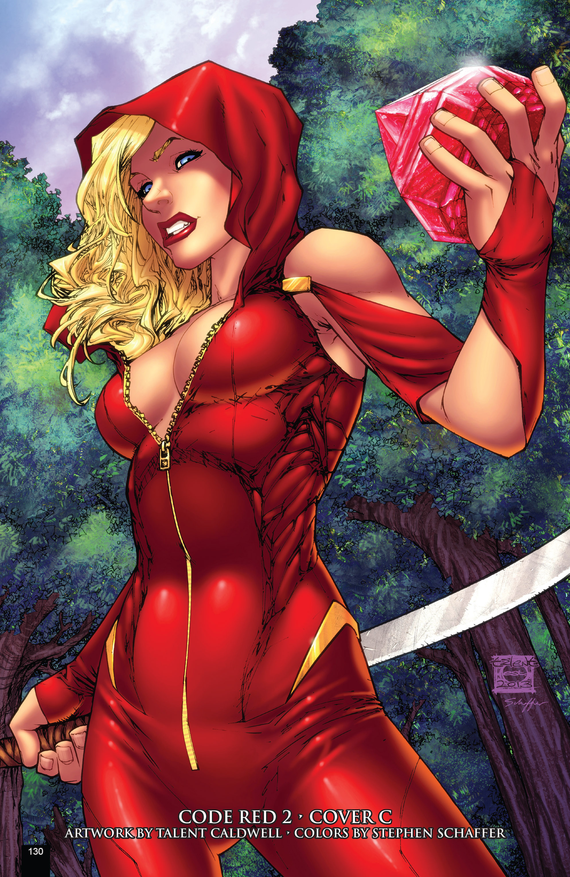 Read online Grimm Fairy Tales presents Code Red comic -  Issue # TPB - 130