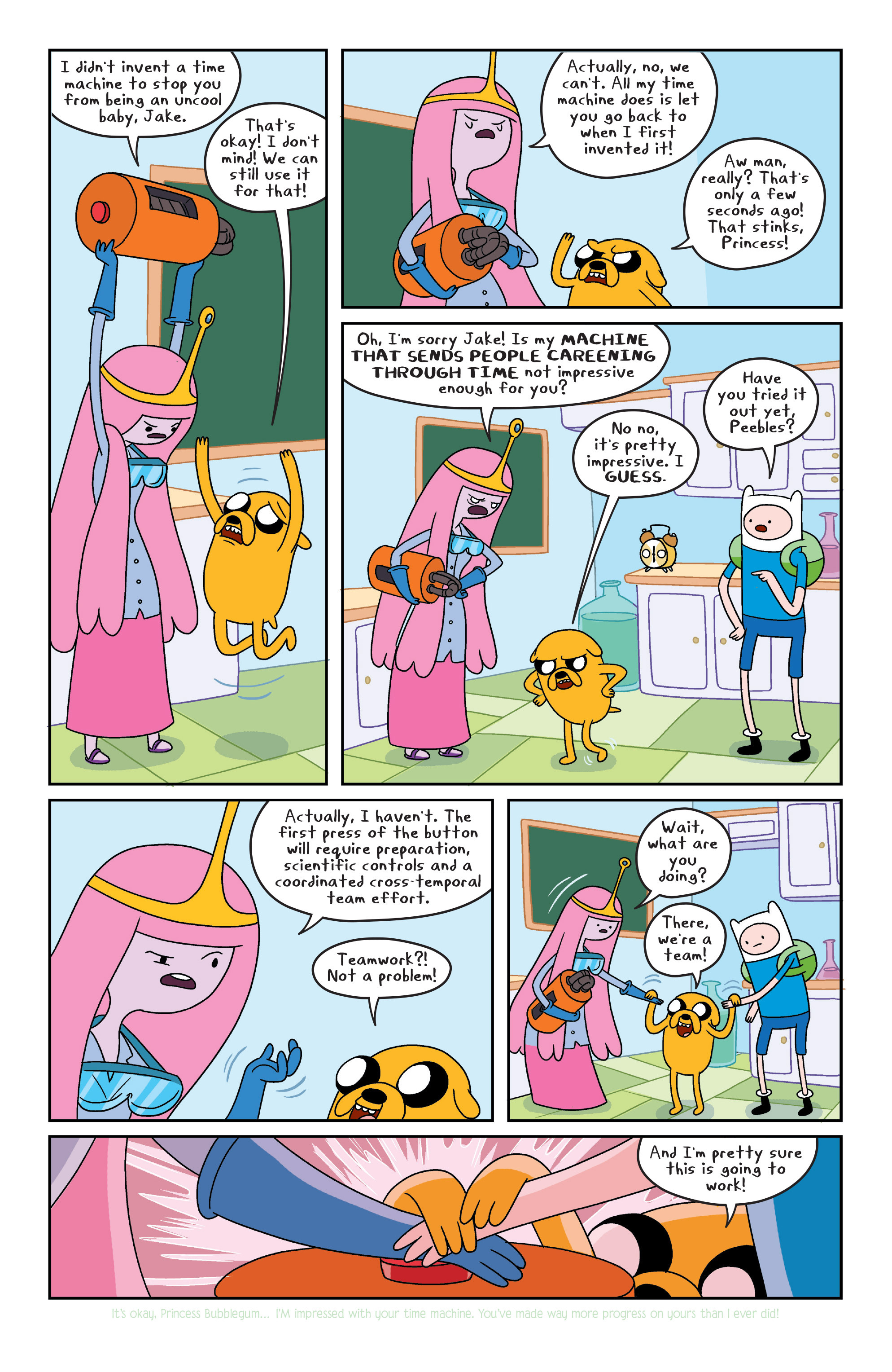 Read online Adventure Time comic -  Issue #6 - 9