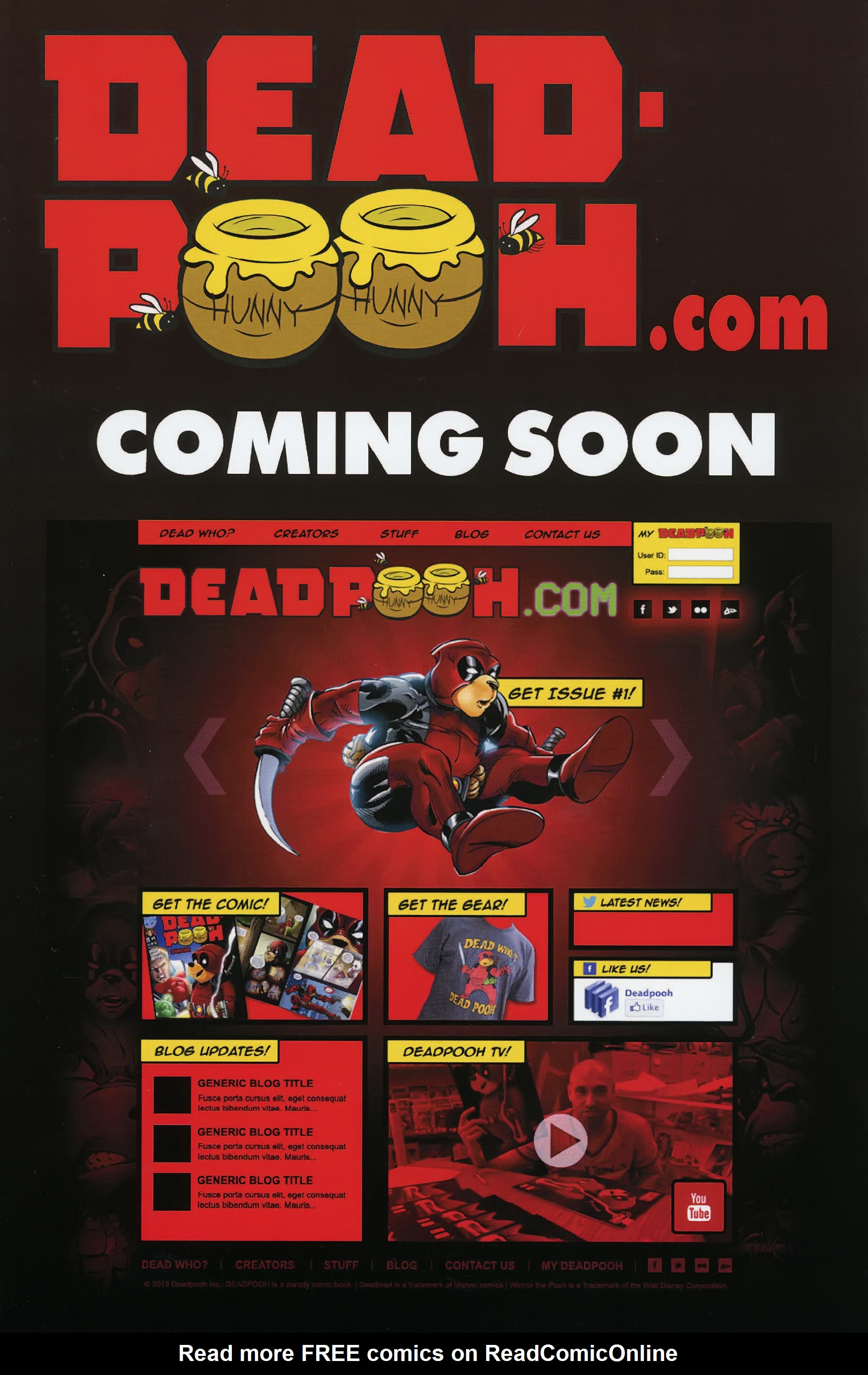Read online Dead Pooh comic -  Issue #3 - 26