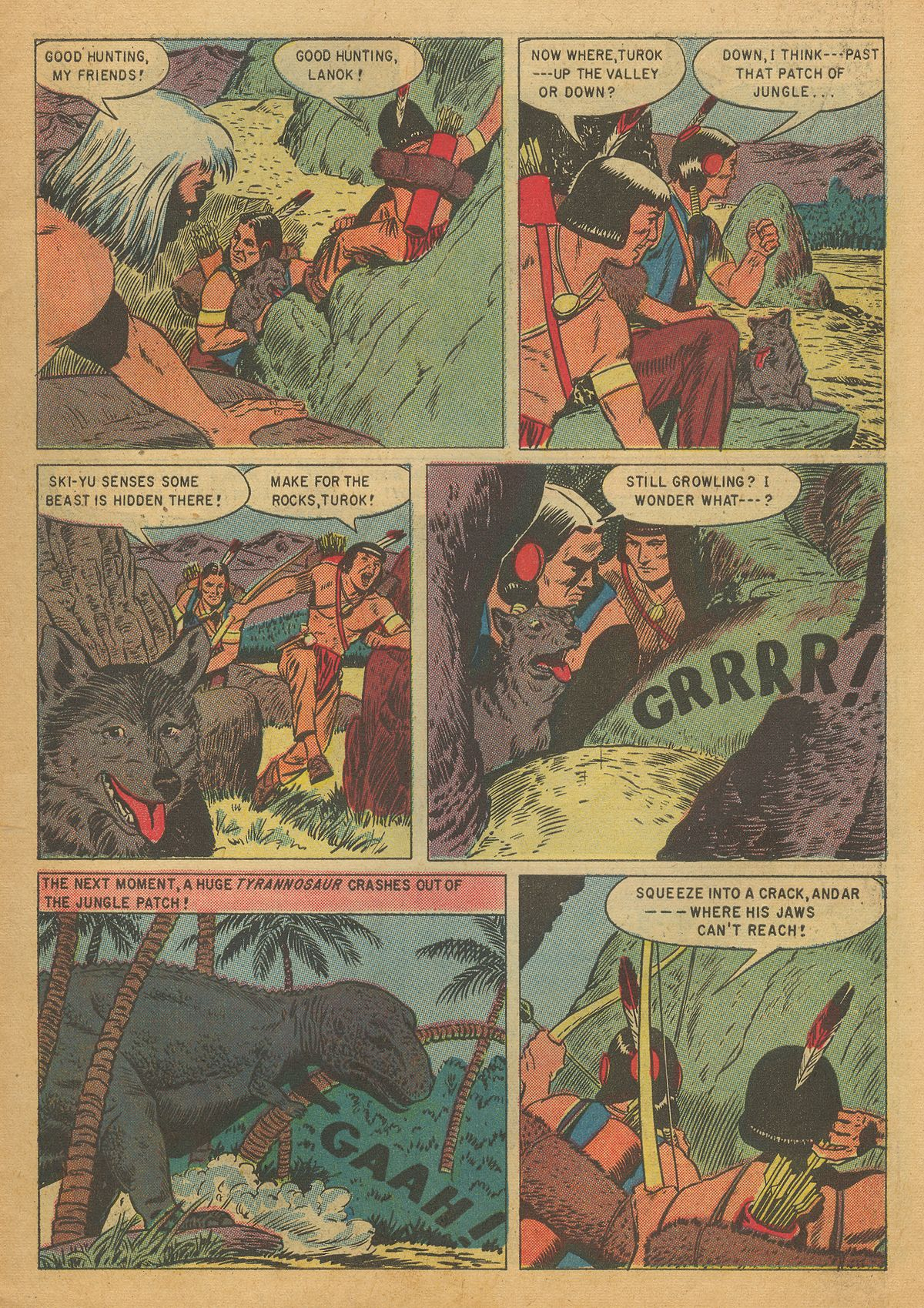 Read online Turok, Son of Stone comic -  Issue #7 - 7