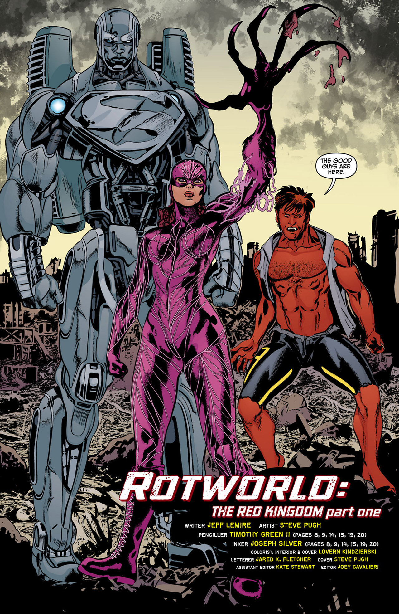 Read online Animal Man (2011) comic -  Issue #13 - 6