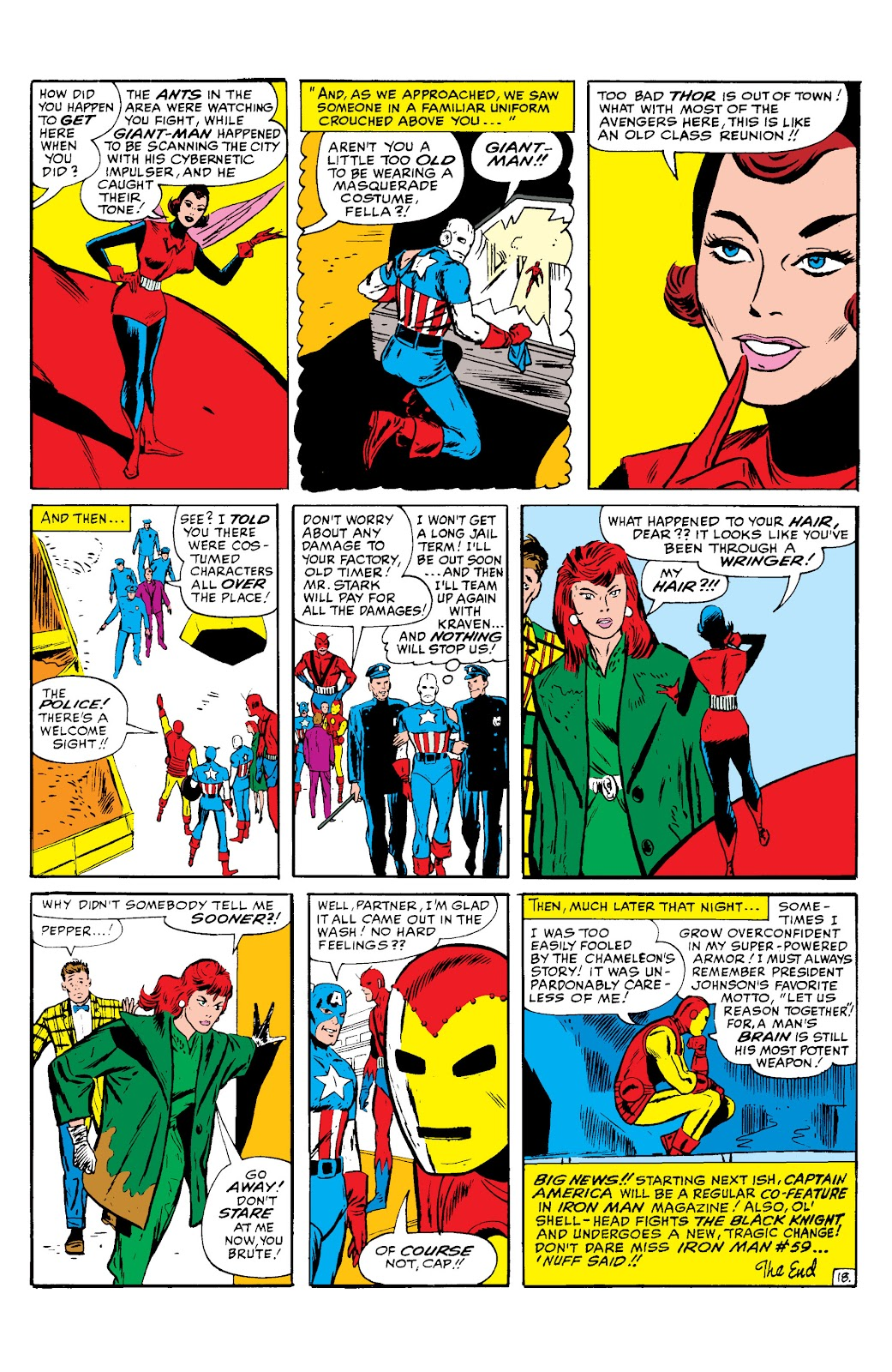 Read online Marvel Masterworks: The Invincible Iron Man comic -  Issue # TPB 2 (Part 2) - 39