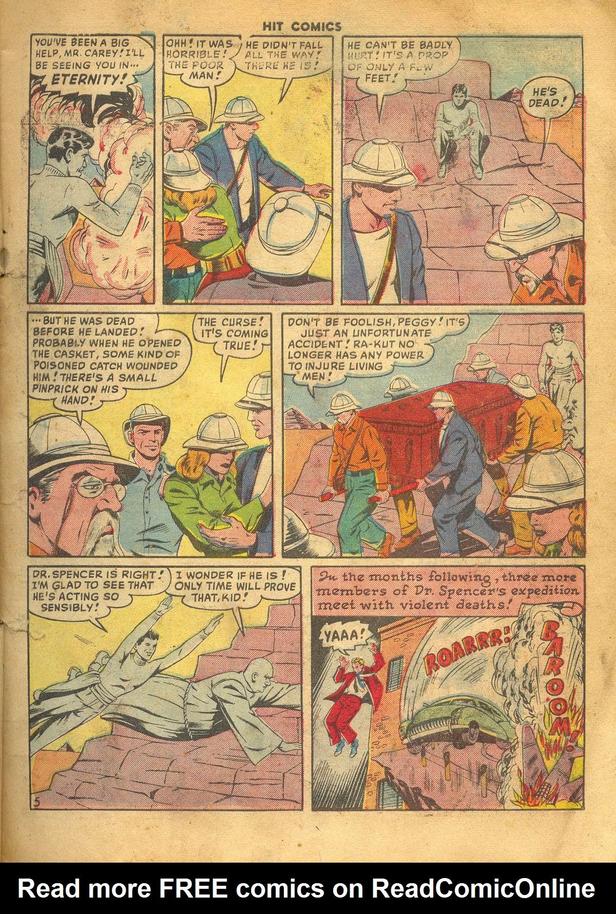 Read online Hit Comics comic -  Issue #60 - 7