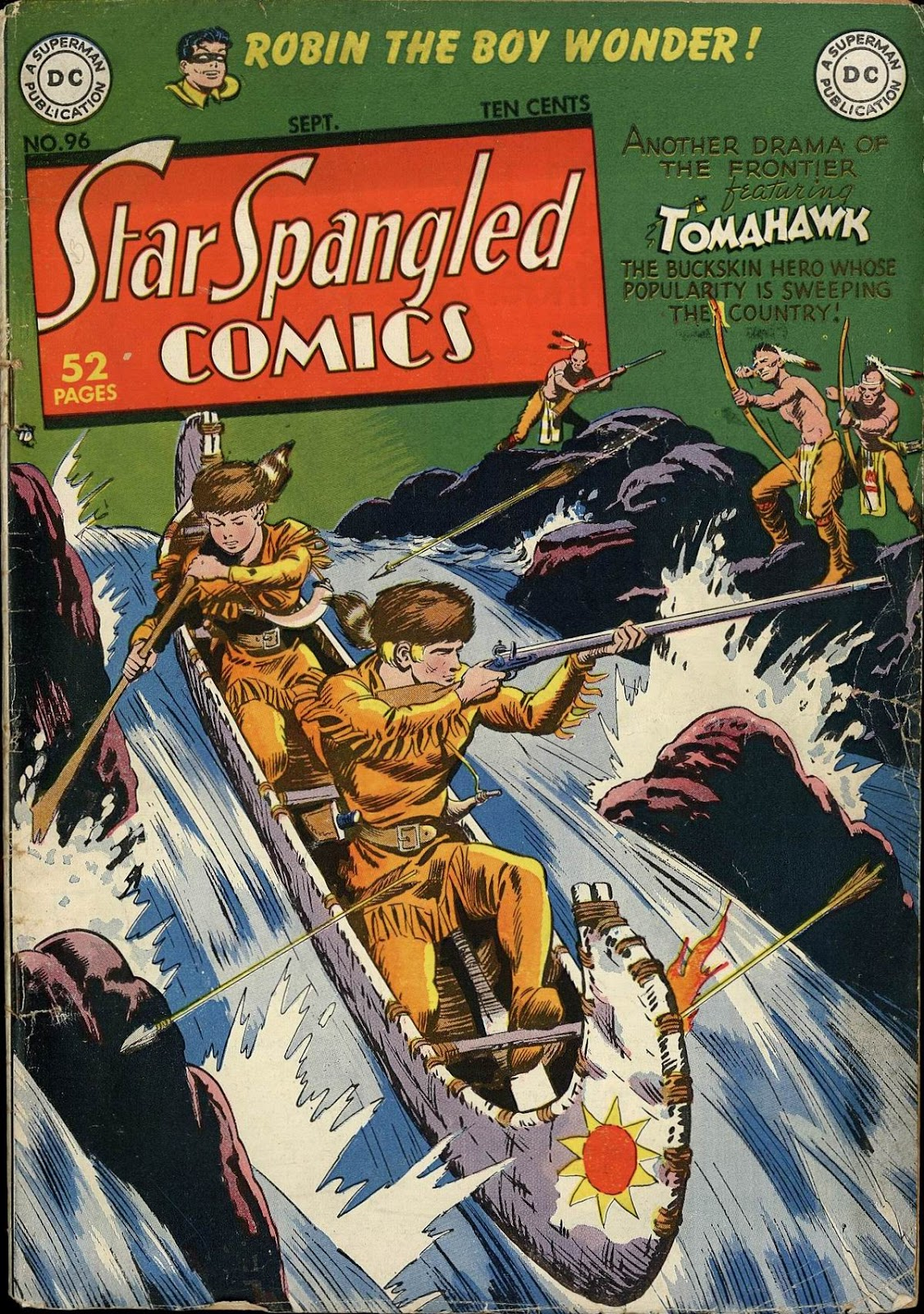Star Spangled Comics (1941) issue 96 - Page 1