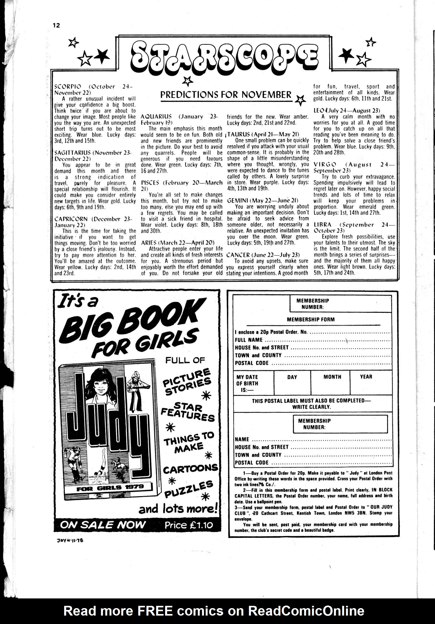 Read online Judy comic -  Issue #982 - 12