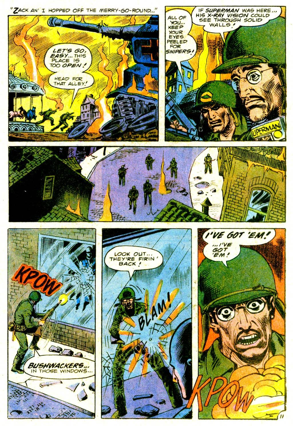 Read online Sgt. Rock comic -  Issue #317 - 20