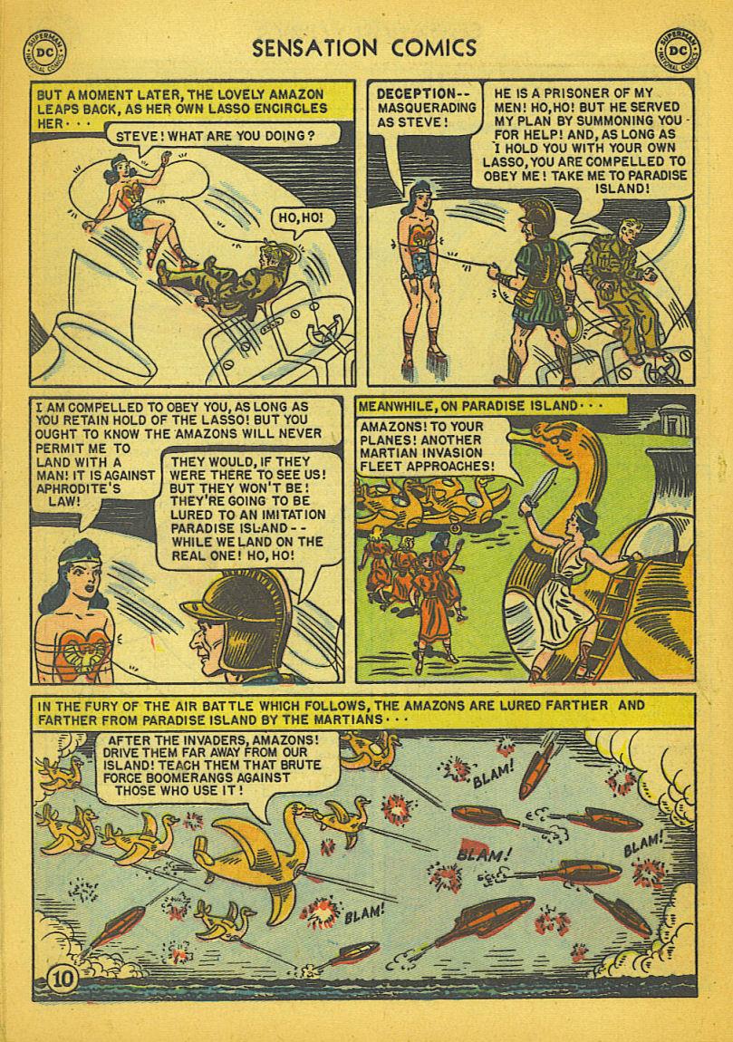Read online Sensation (Mystery) Comics comic -  Issue #104 - 12