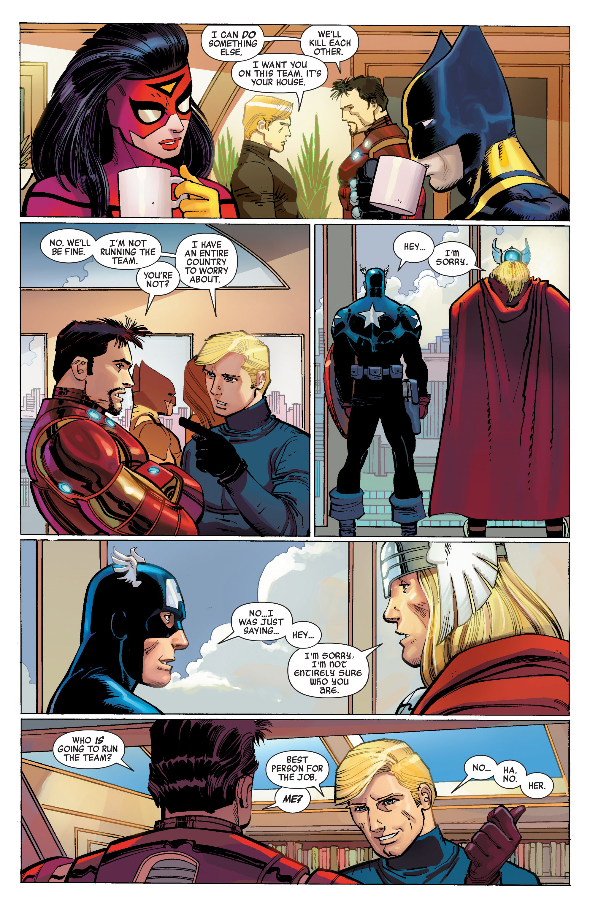 Read online Avengers (2010) comic -  Issue #1 - 9