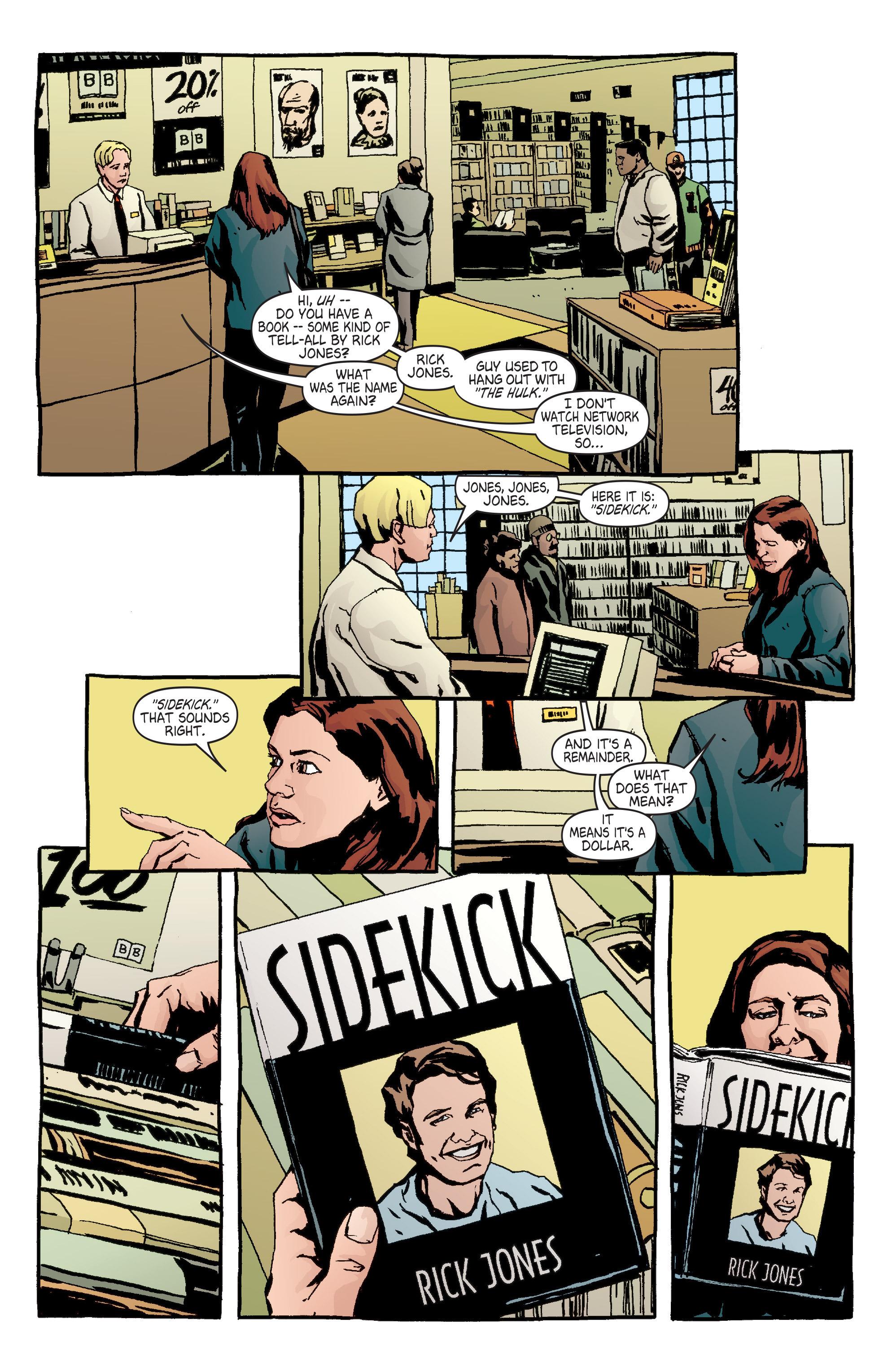 Read online Alias comic -  Issue #7 - 10