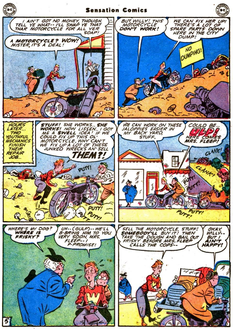 Read online Sensation (Mystery) Comics comic -  Issue #64 - 27