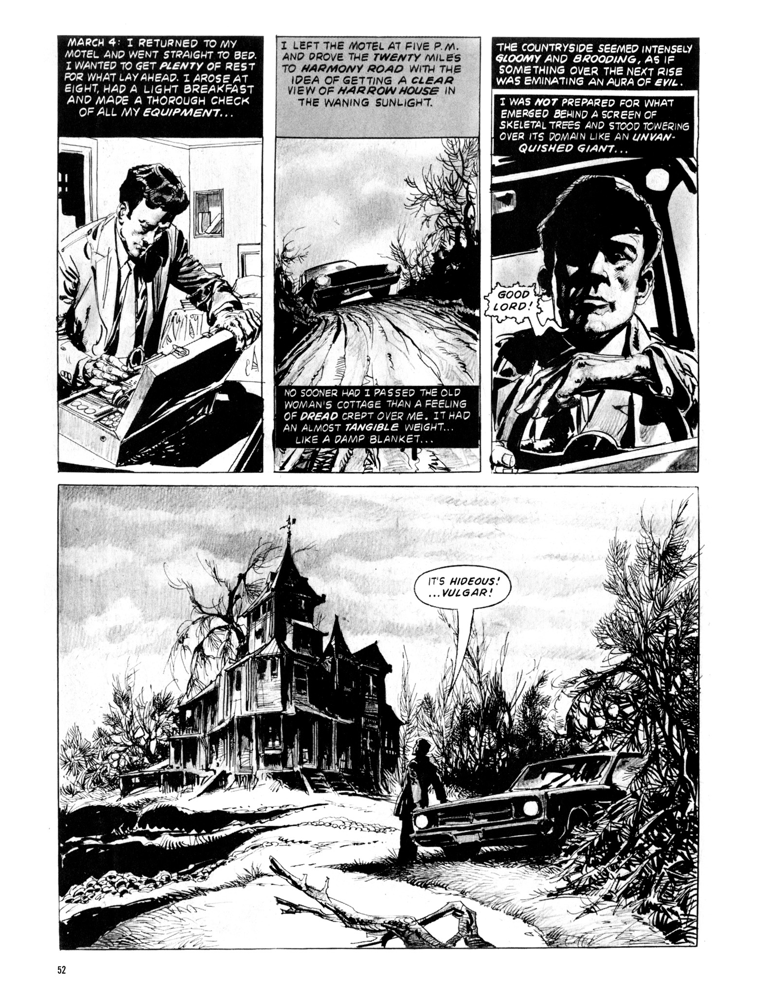 Read online Eerie Archives comic -  Issue # TPB 20 - 52