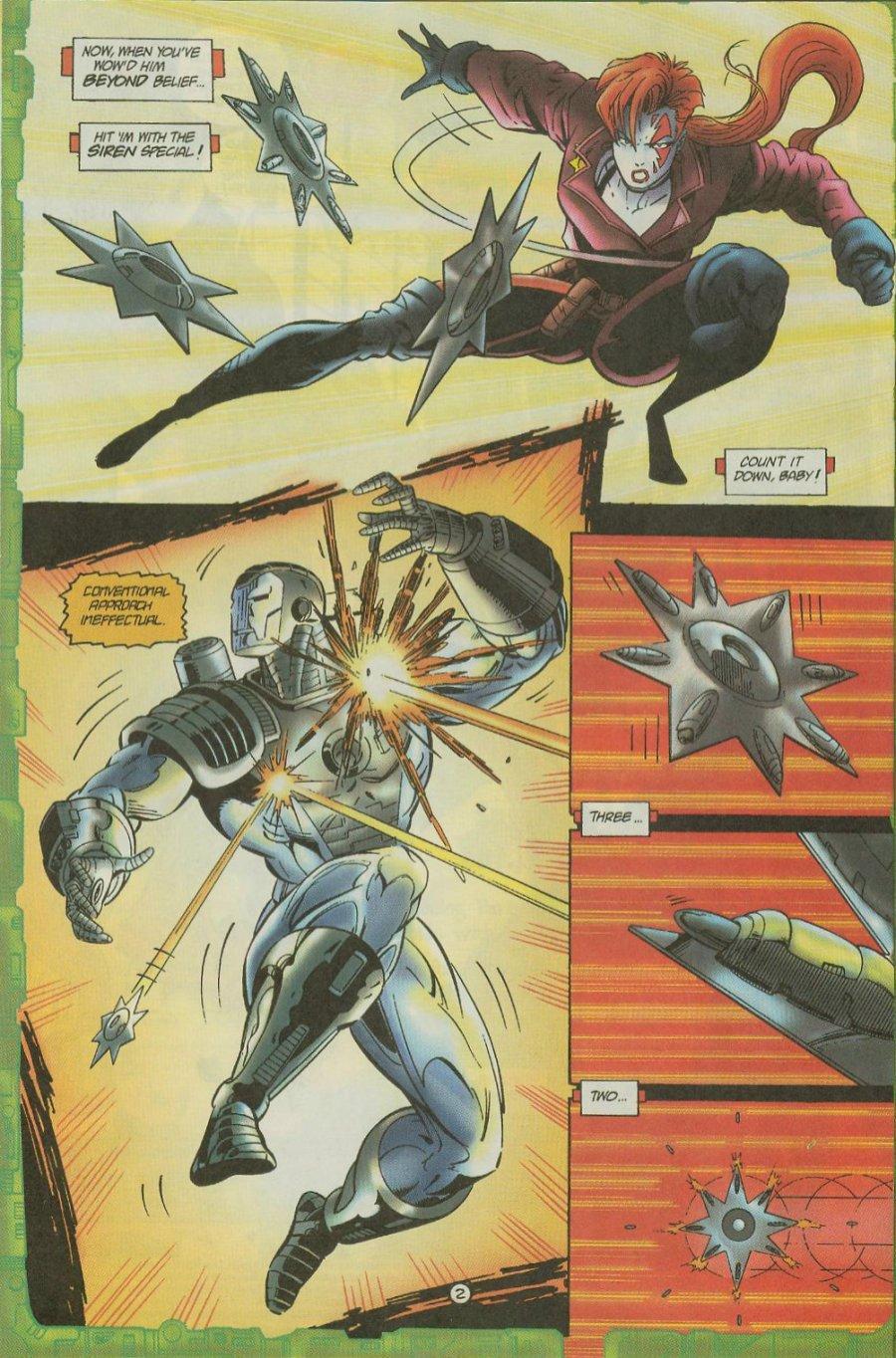 Read online Siren comic -  Issue #1 - 4