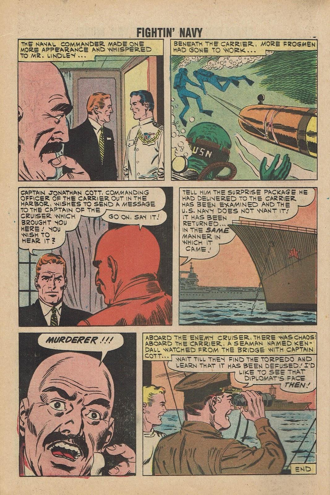 Read online Fightin' Navy comic -  Issue #98 - 18