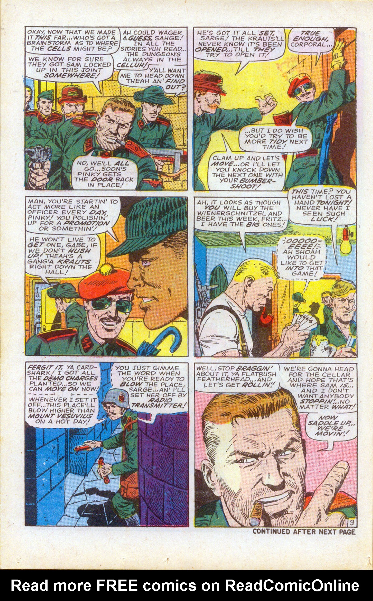 Read online Sgt. Fury comic -  Issue #61 - 14