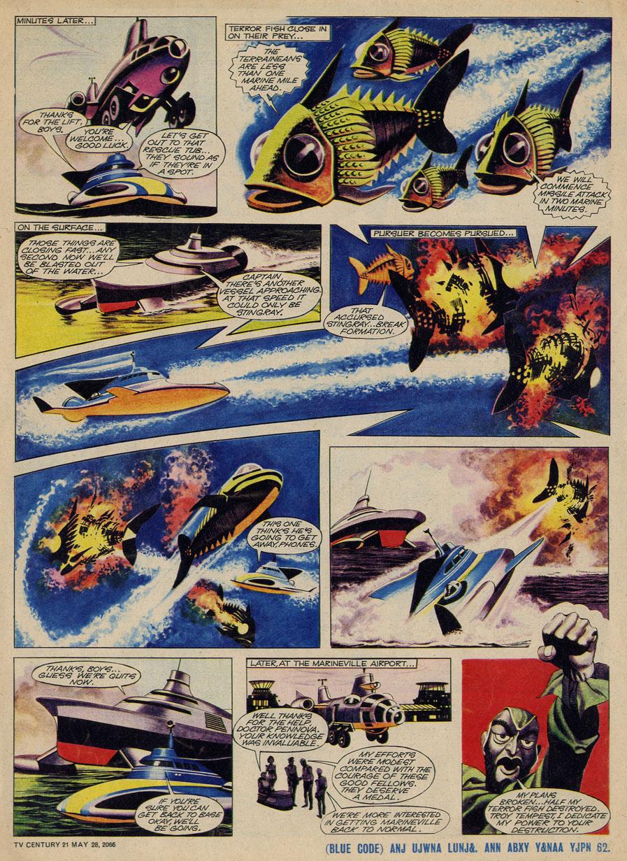 Read online TV Century 21 (TV 21) comic -  Issue #71 - 5