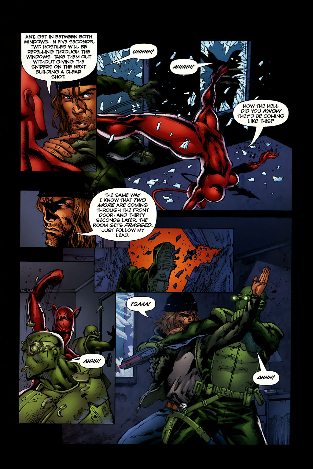 Read online Ant comic -  Issue #10 - 9