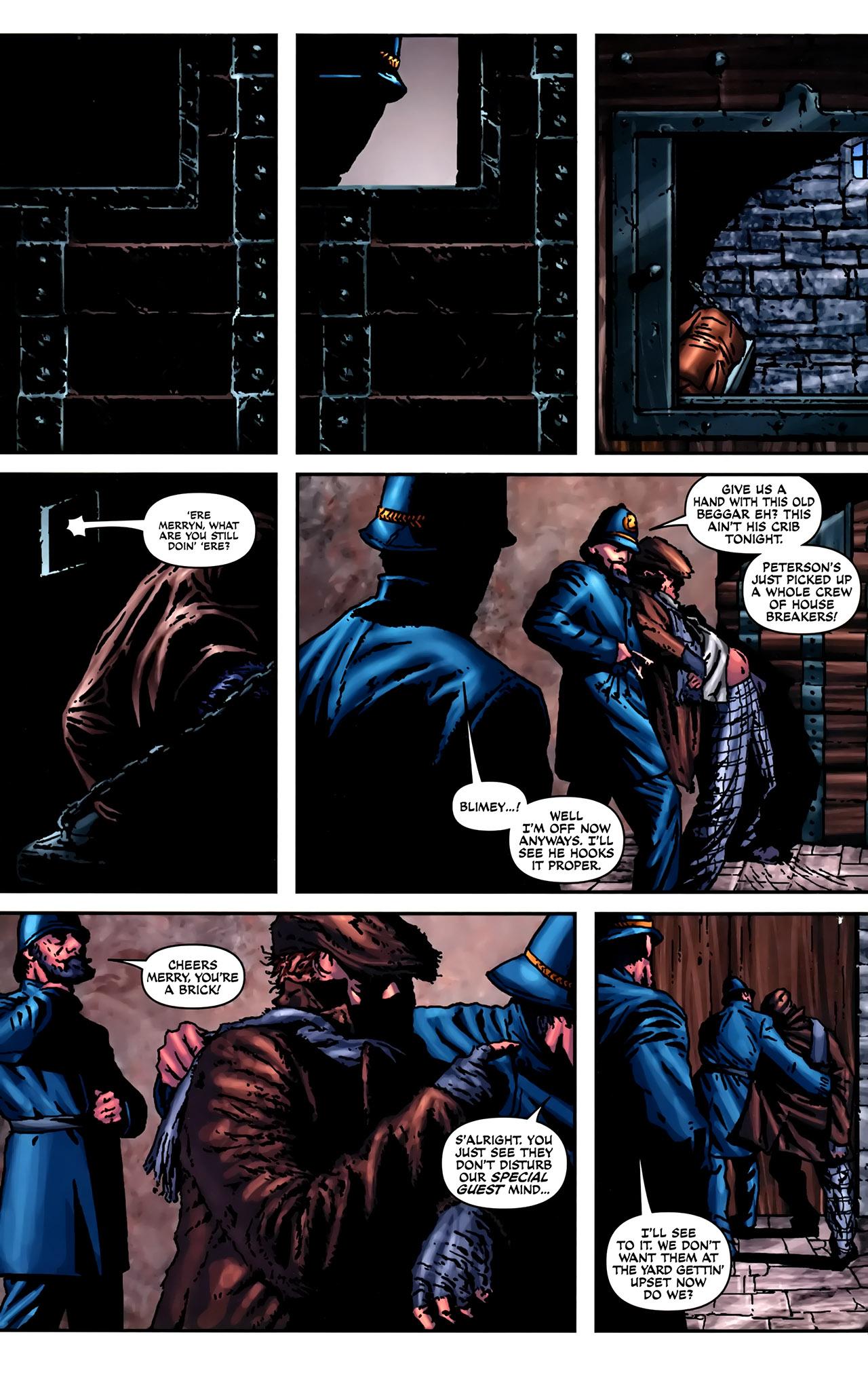 Read online Sherlock Holmes (2009) comic -  Issue #2 - 16
