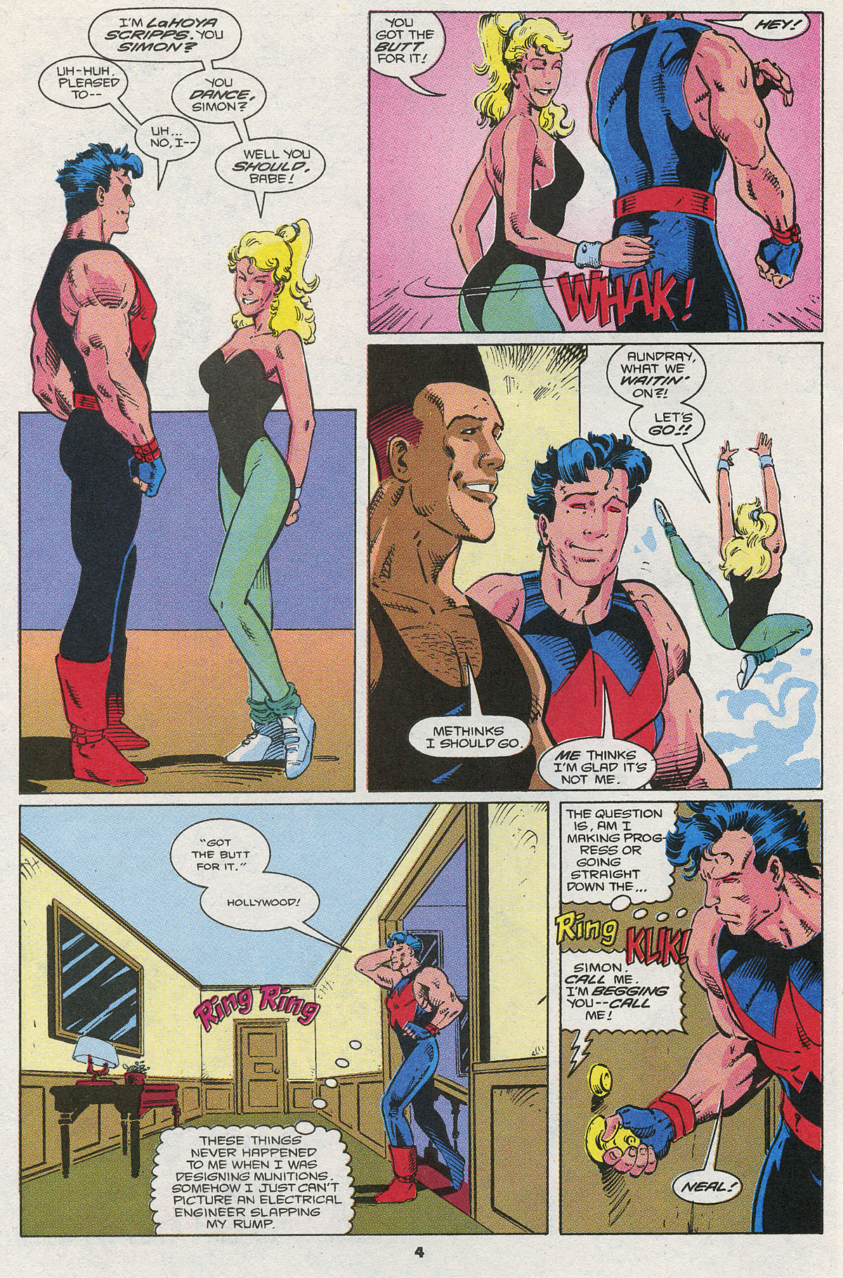Read online Wonder Man (1991) comic -  Issue #4 - 5