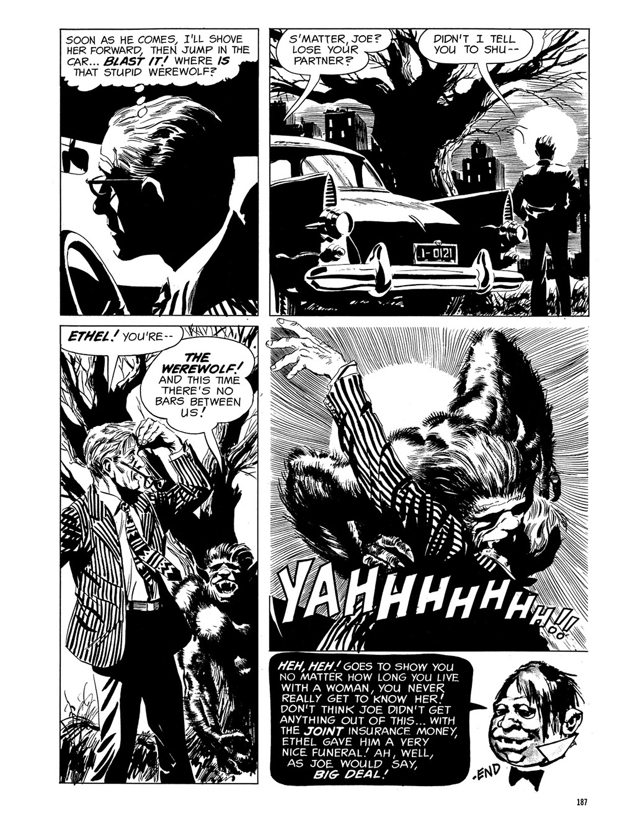 Read online Eerie Archives comic -  Issue # TPB 3 - 188
