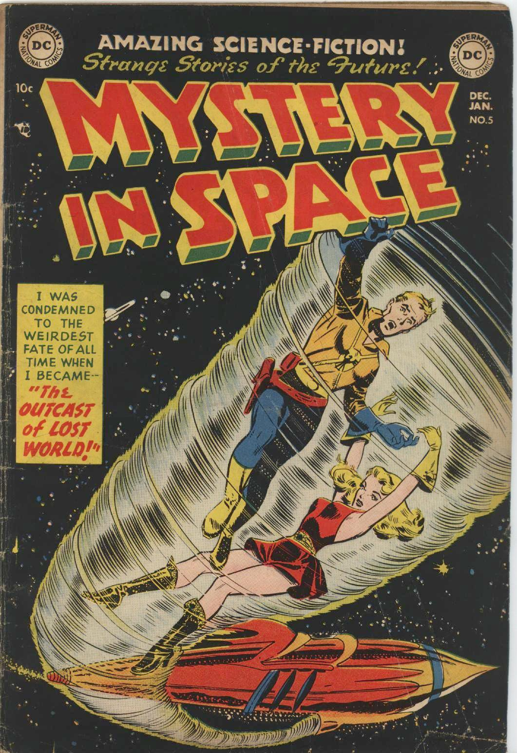 Mystery in Space (1951) issue 5 - Page 1