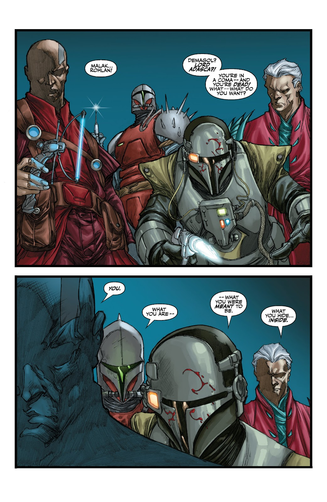 Read online Star Wars Legends: The Old Republic - Epic Collection comic -  Issue # TPB 3 (Part 1) - 62