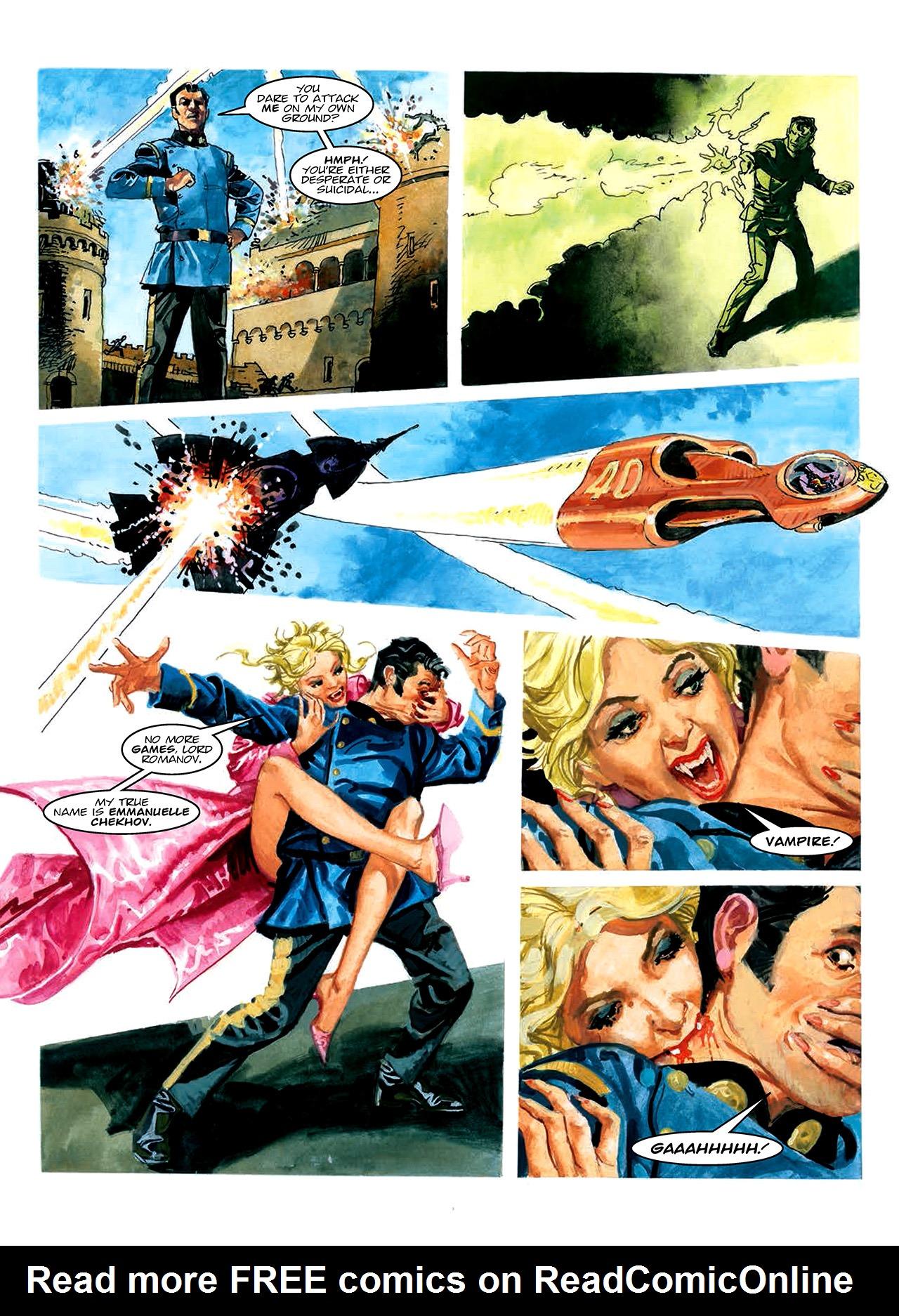 Read online Nikolai Dante comic -  Issue # TPB 10 - 168