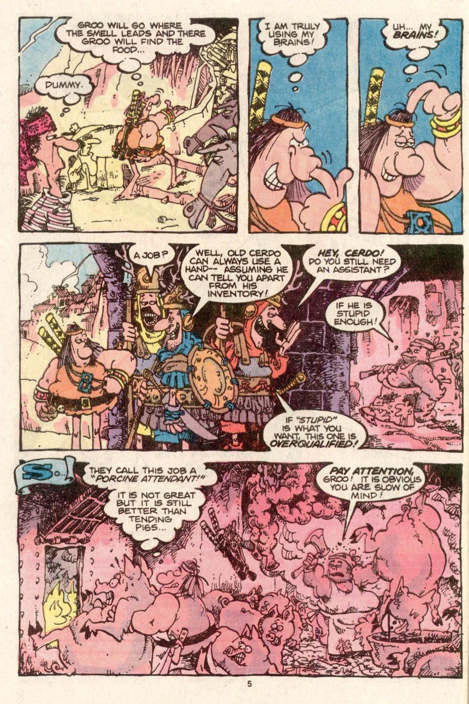 Read online Sergio Aragonés Groo the Wanderer comic -  Issue #28 - 5