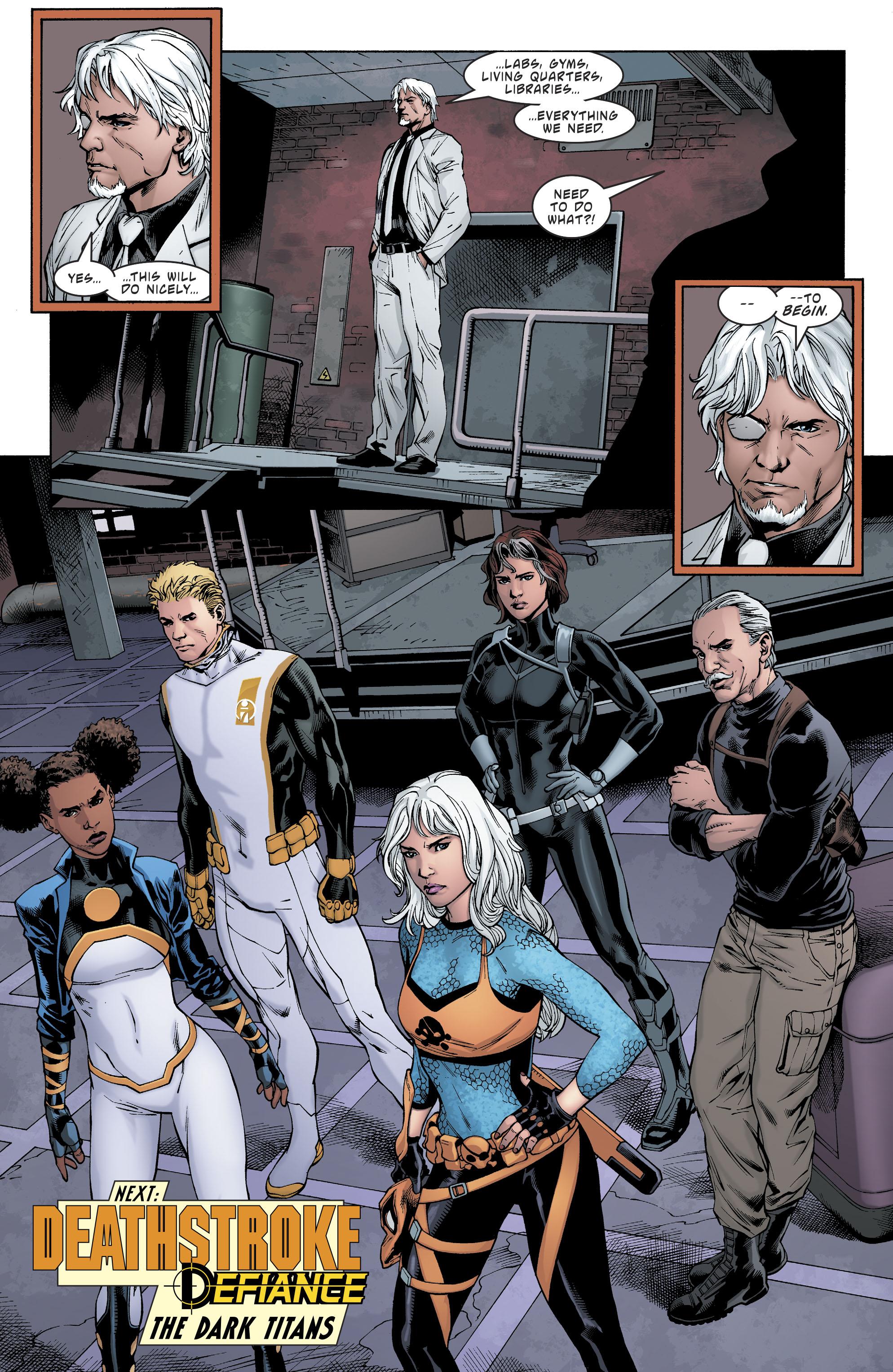 Read online Deathstroke (2016) comic -  Issue #20 - 22