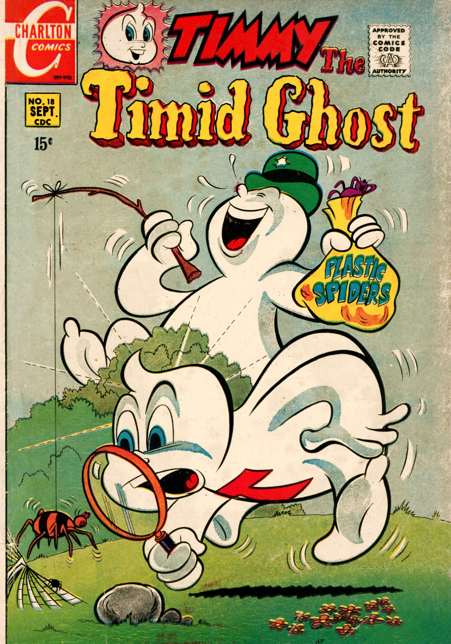 Timmy the Timid Ghost 18 Page 1