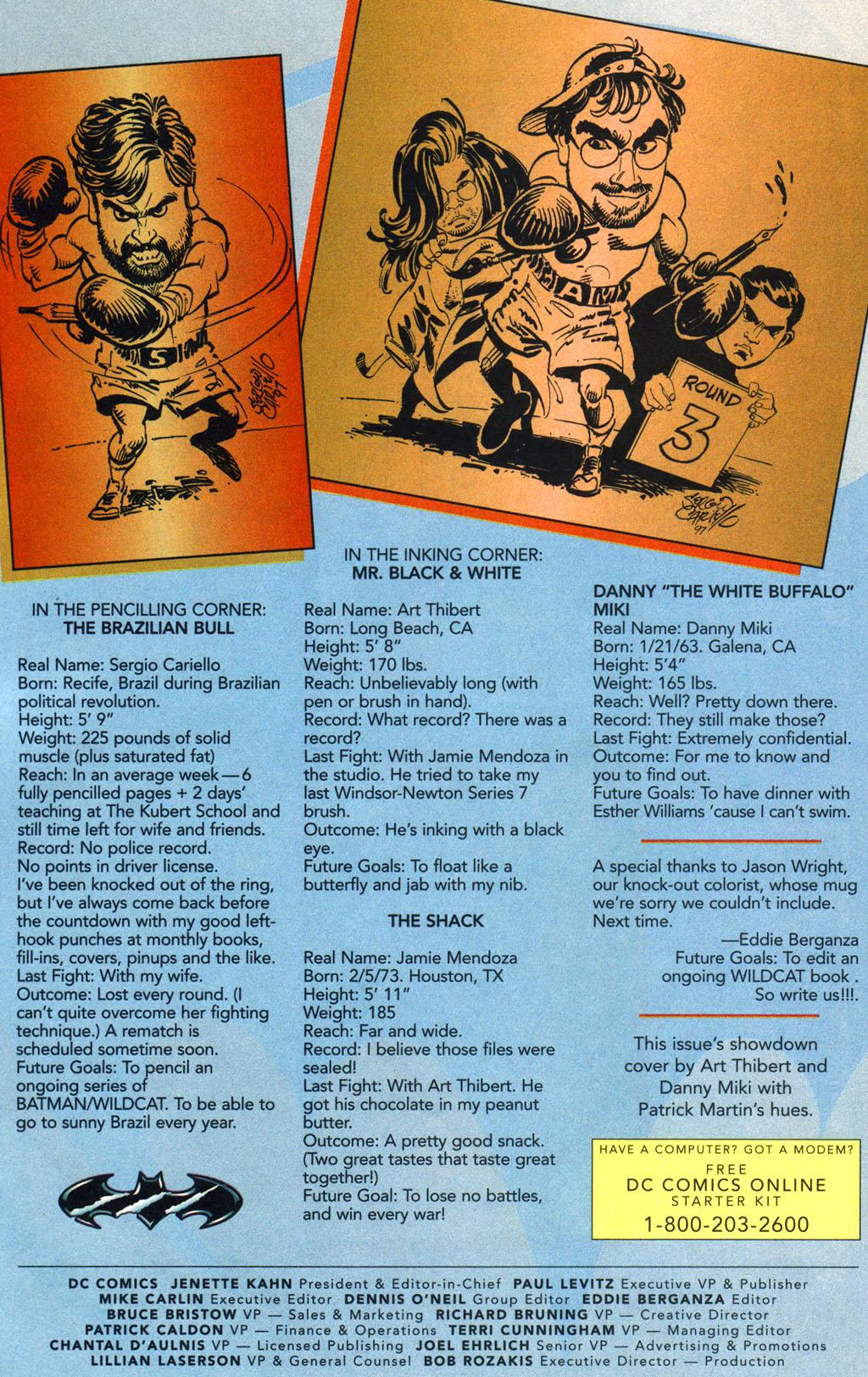 Read online Batman/Wildcat comic -  Issue #3 - 24