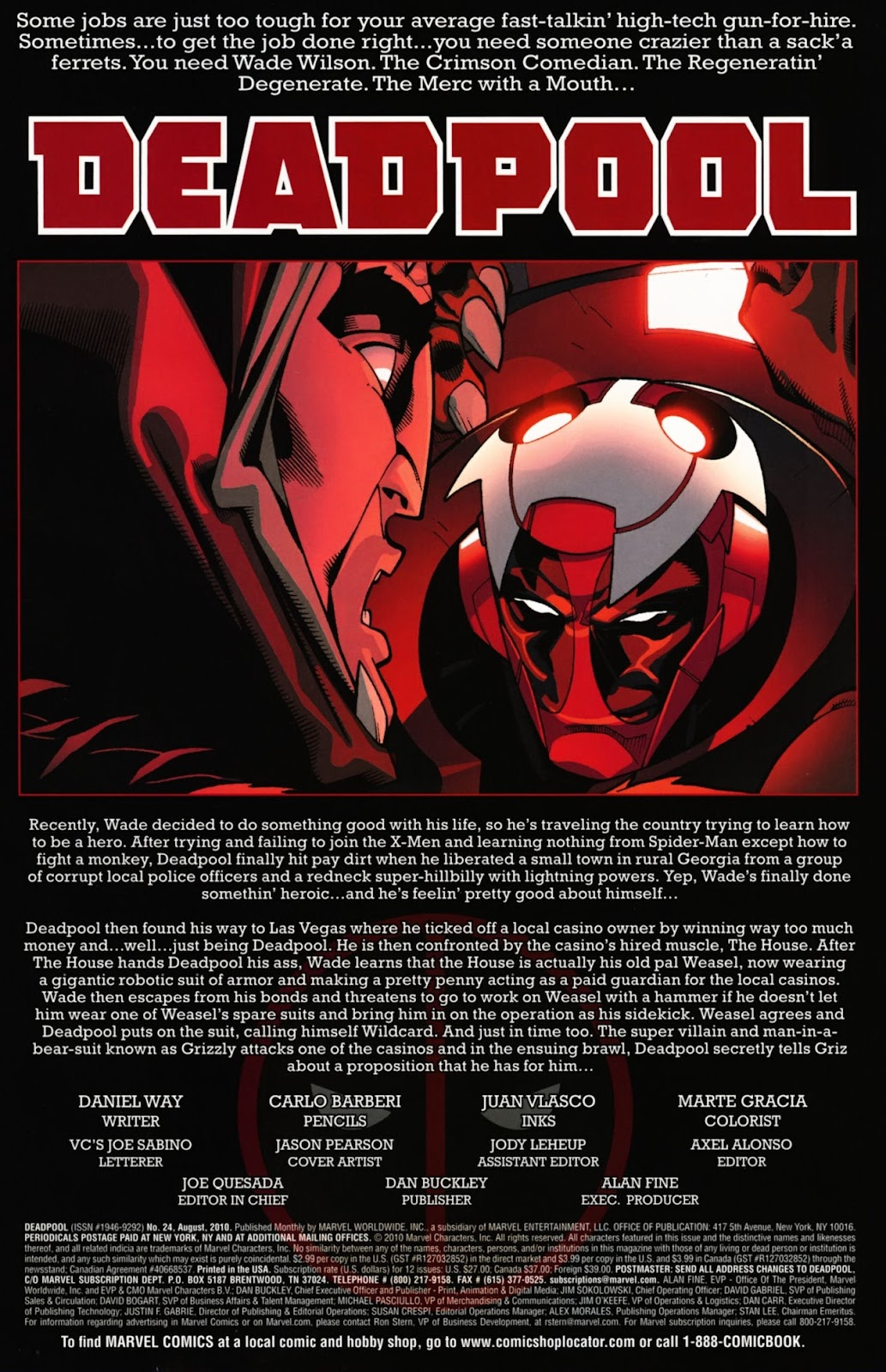 Read online Deadpool (2008) comic -  Issue #24 - 3