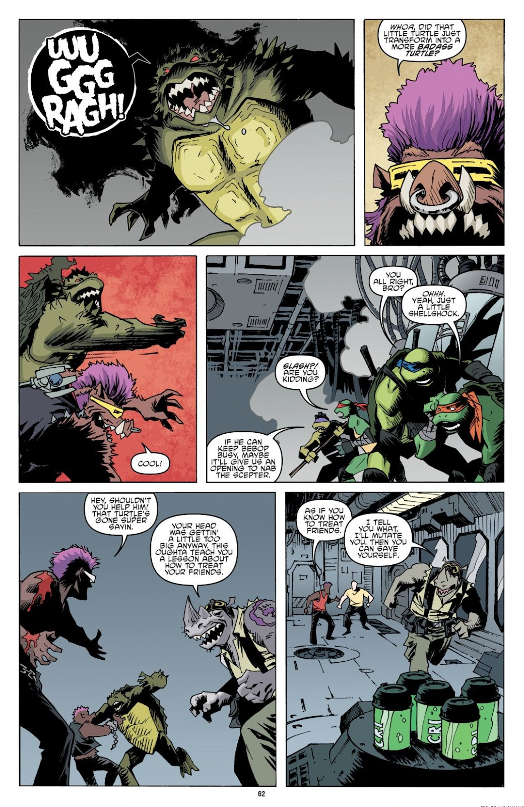 Read online Teenage Mutant Ninja Turtles: The IDW Collection comic -  Issue # TPB 8 (Part 1) - 62