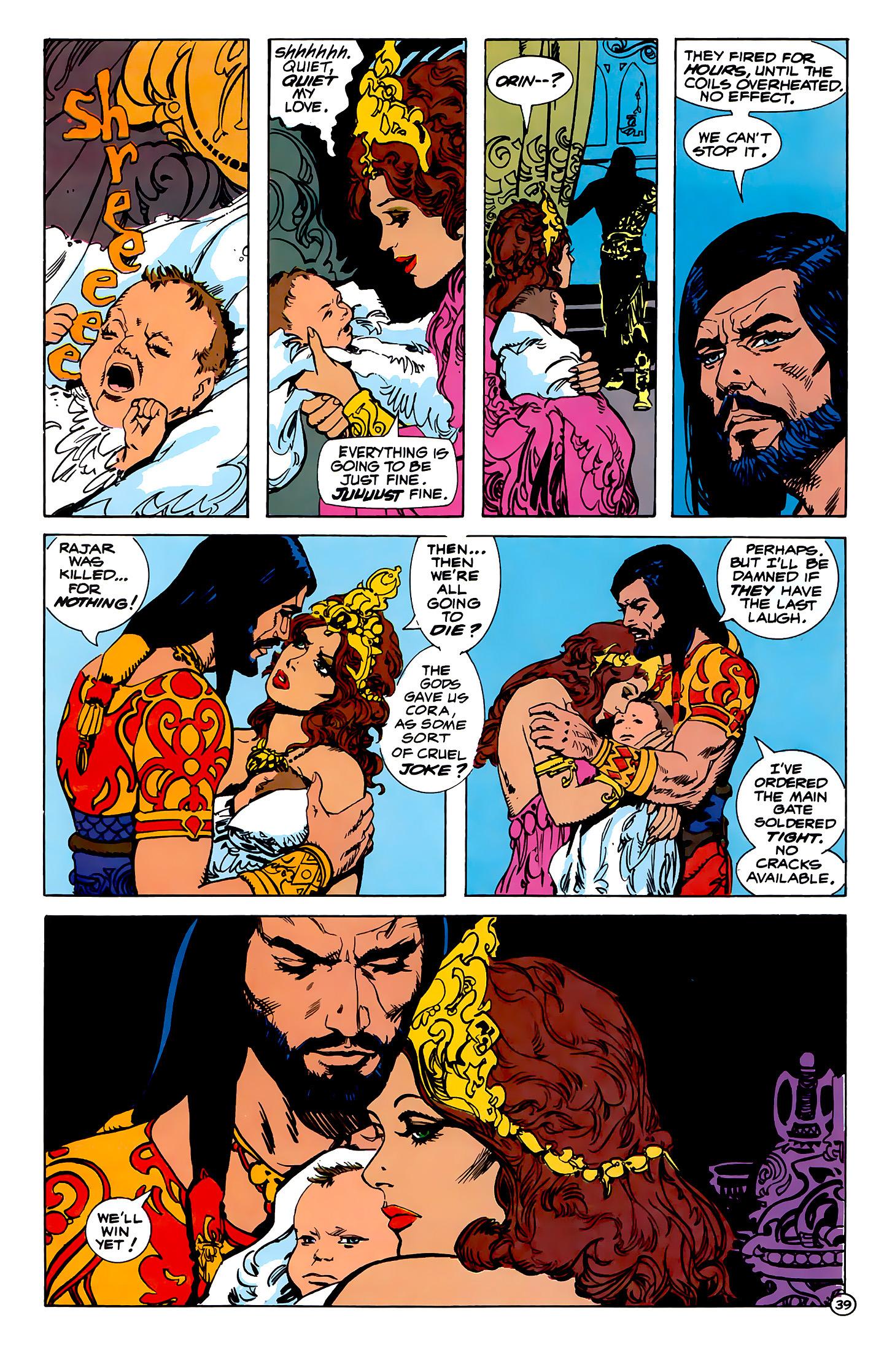 Read online Atlantis Chronicles comic -  Issue #1 - 39
