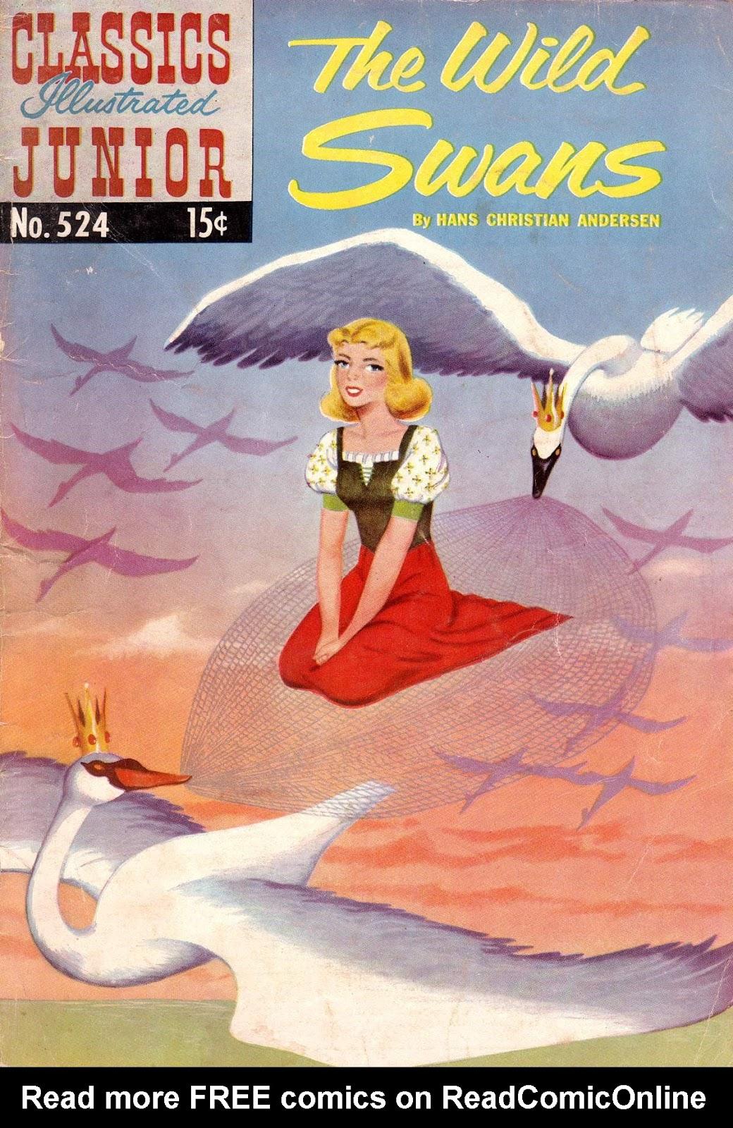 Classics Illustrated Junior 524 Page 1