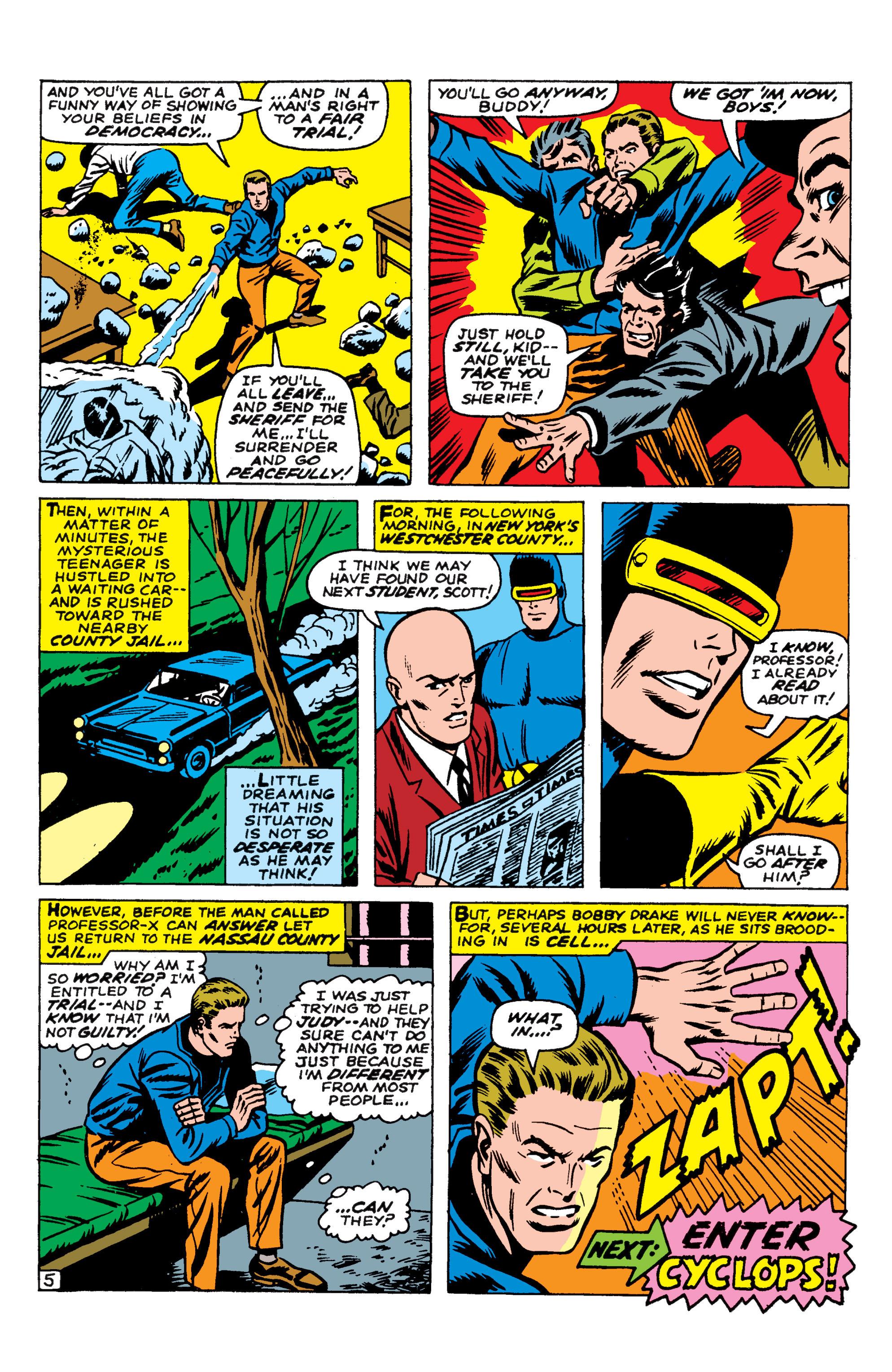 Read online Uncanny X-Men (1963) comic -  Issue #44 - 21