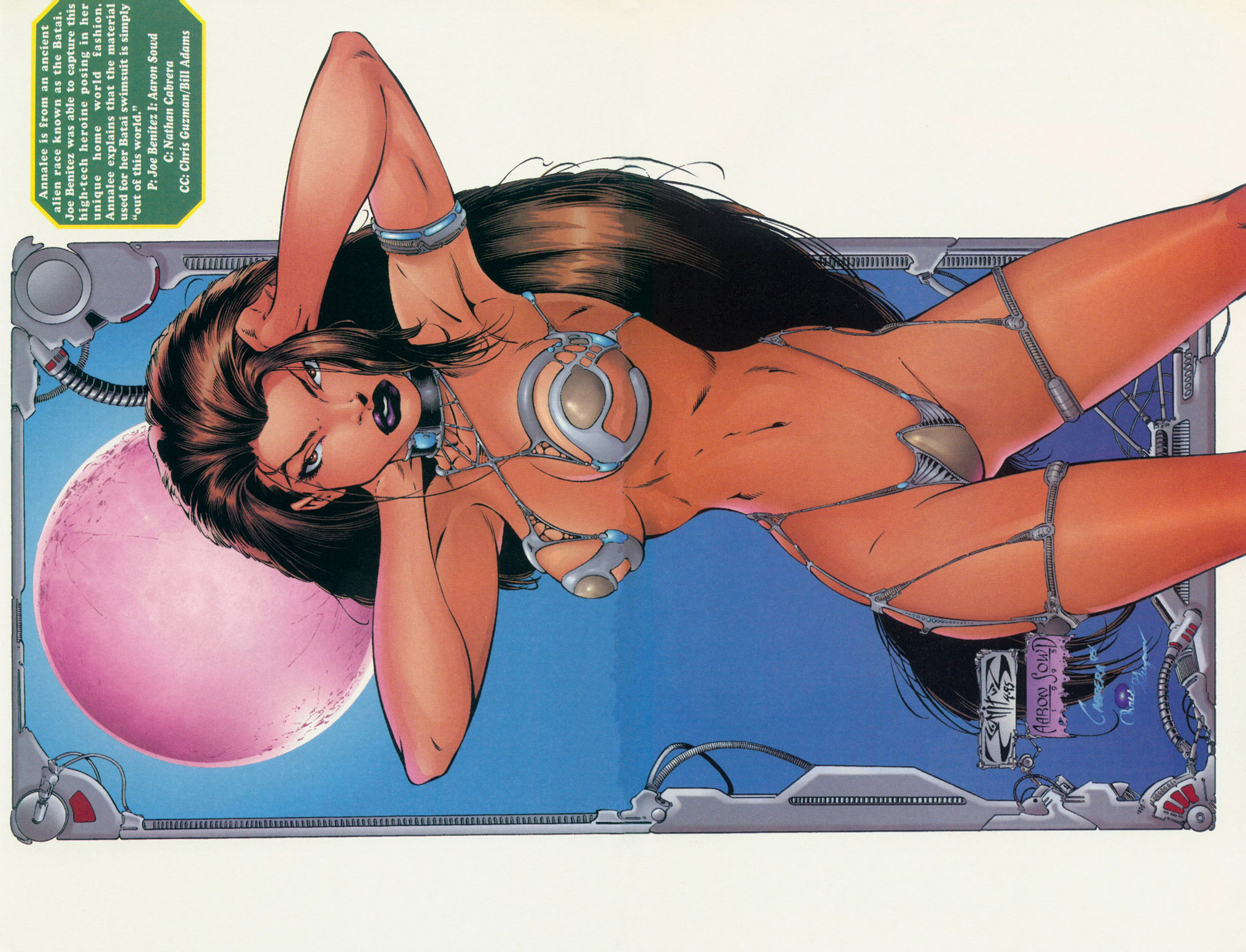 Read online Ballistic Studios Swimsuit Special comic -  Issue #1 - 22