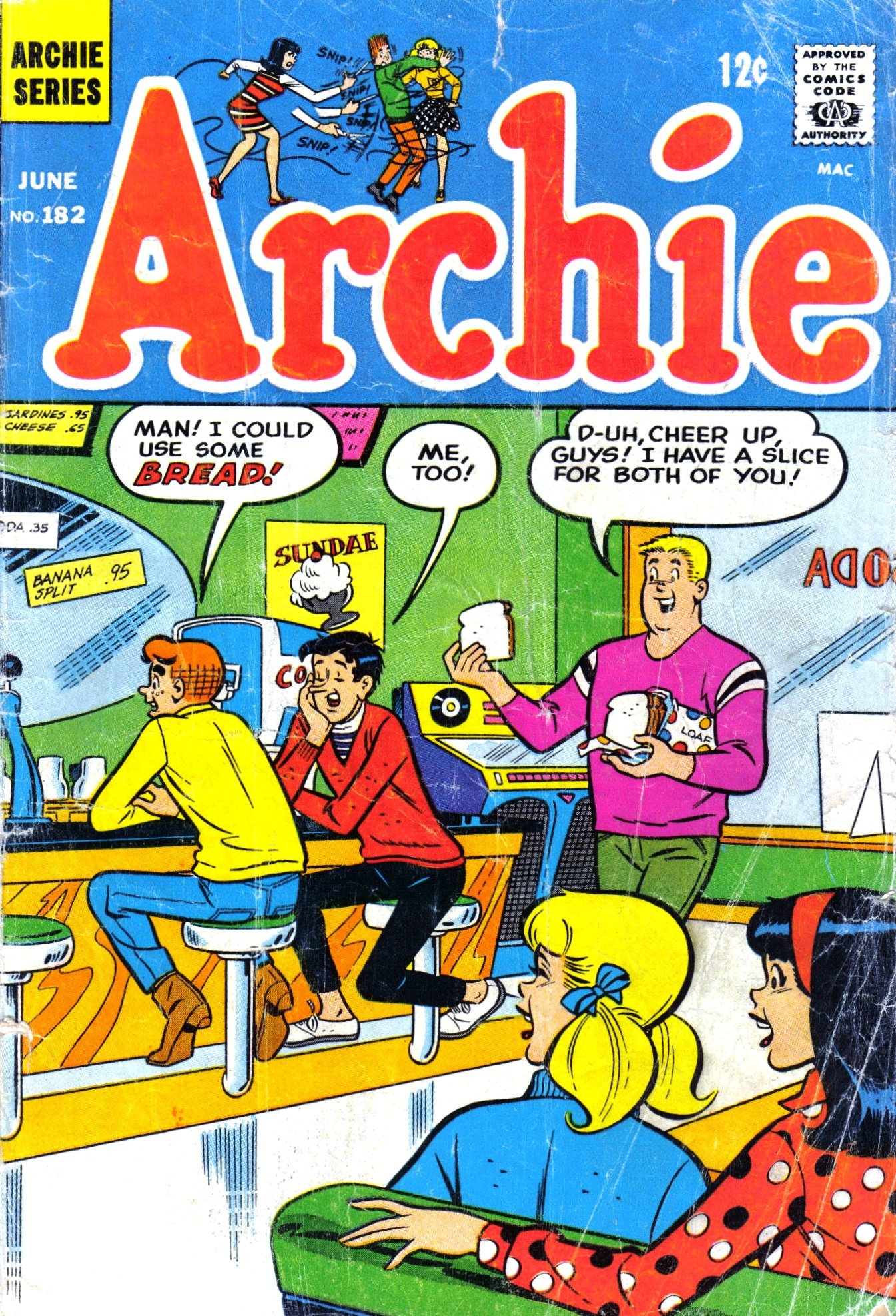 Read online Archie (1960) comic -  Issue #182 - 1